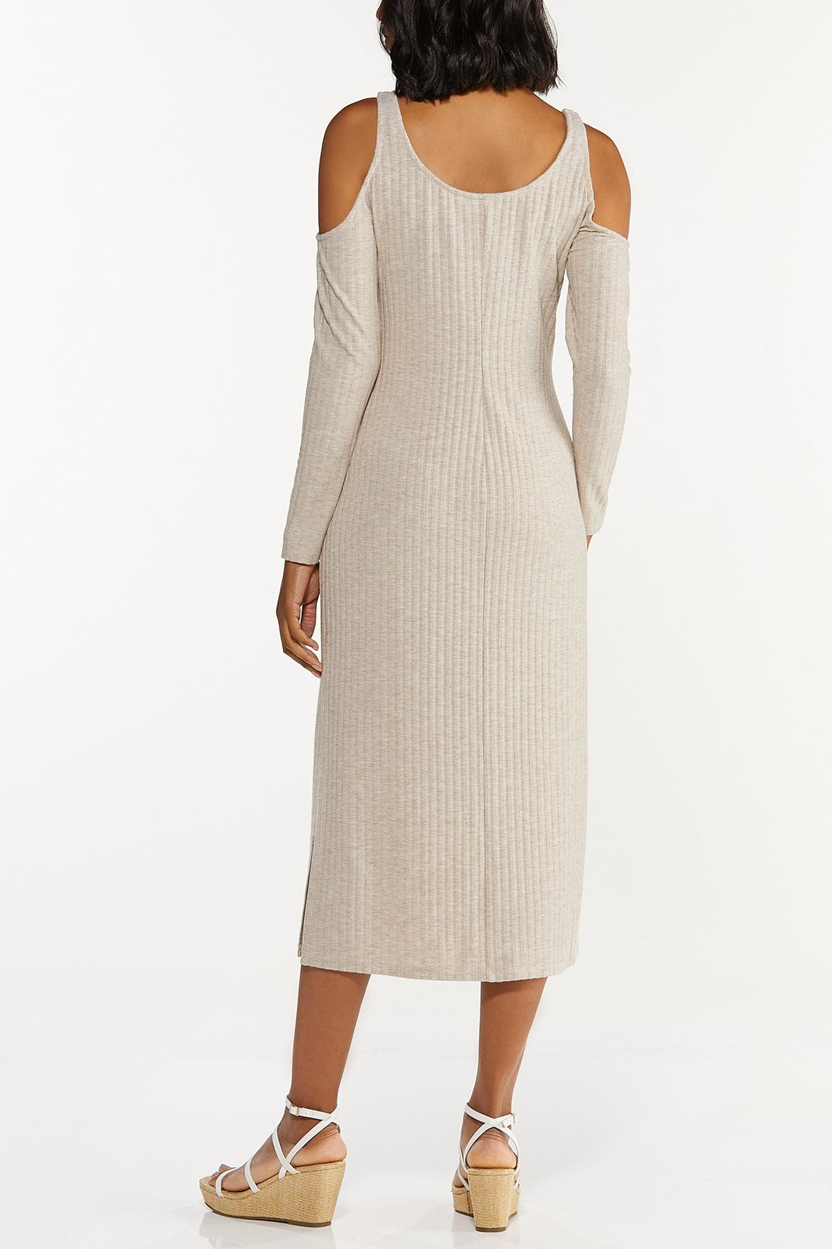 Cold Shoulder Midi Dress (Item #44662375)
