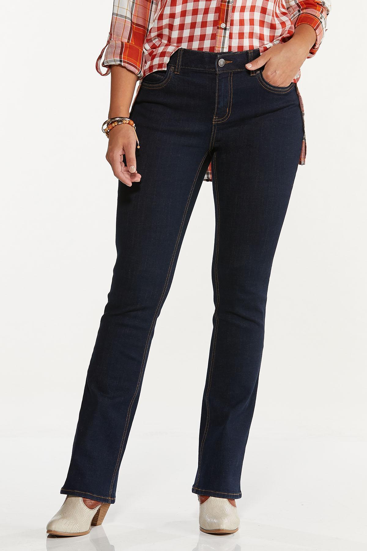 Petite Dark Bootcut Jeans (Item #44662396)
