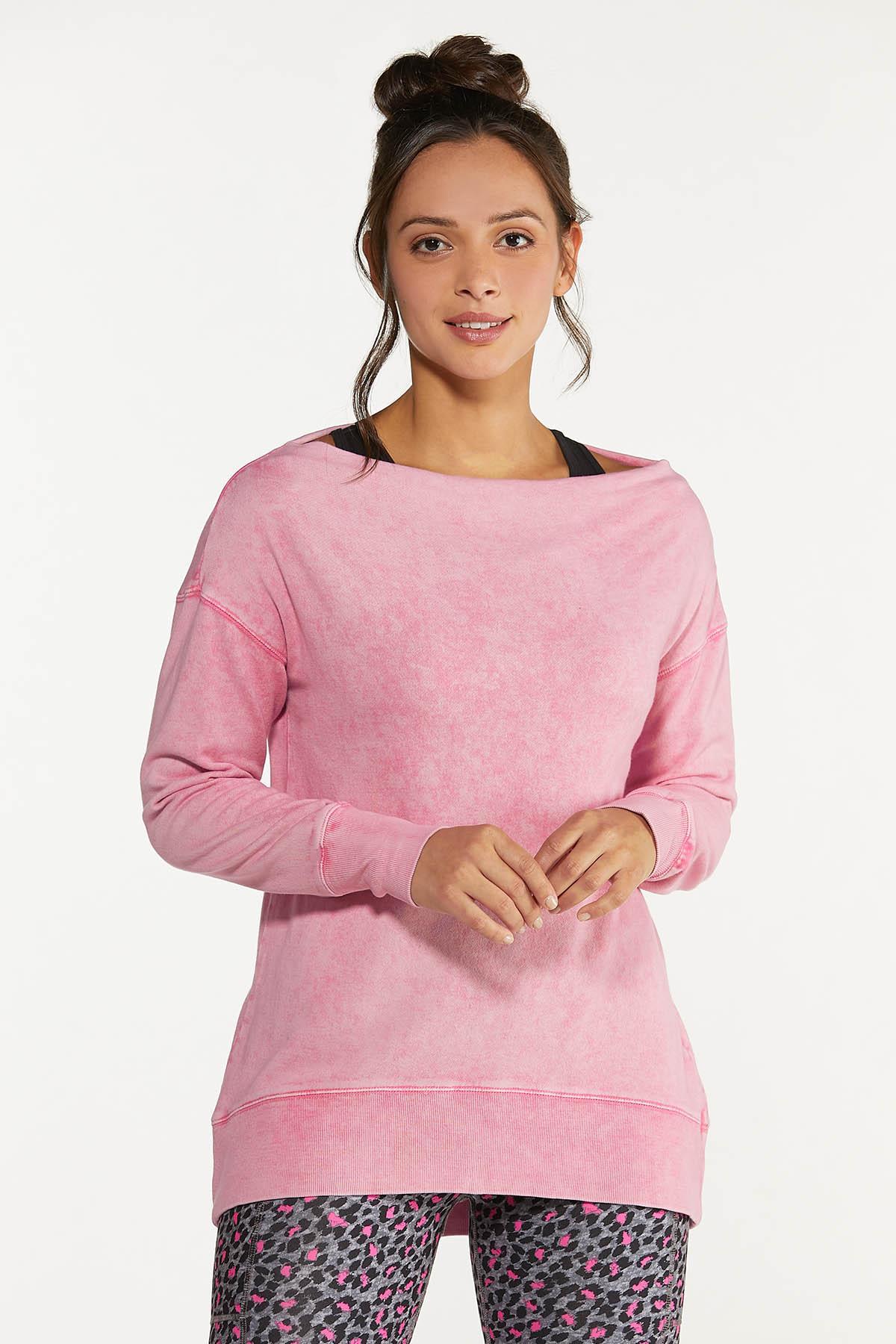 Off Shoulder Sweatshirt (Item #44662560)