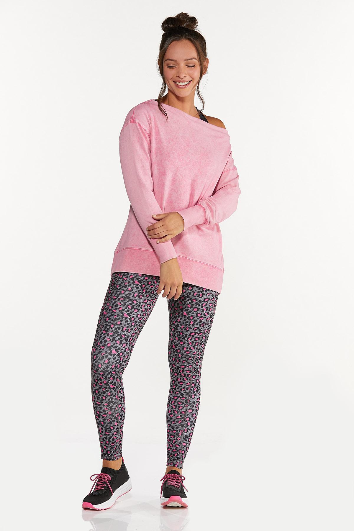 Plus Size Off Shoulder Sweatshirt (Item #44662572)