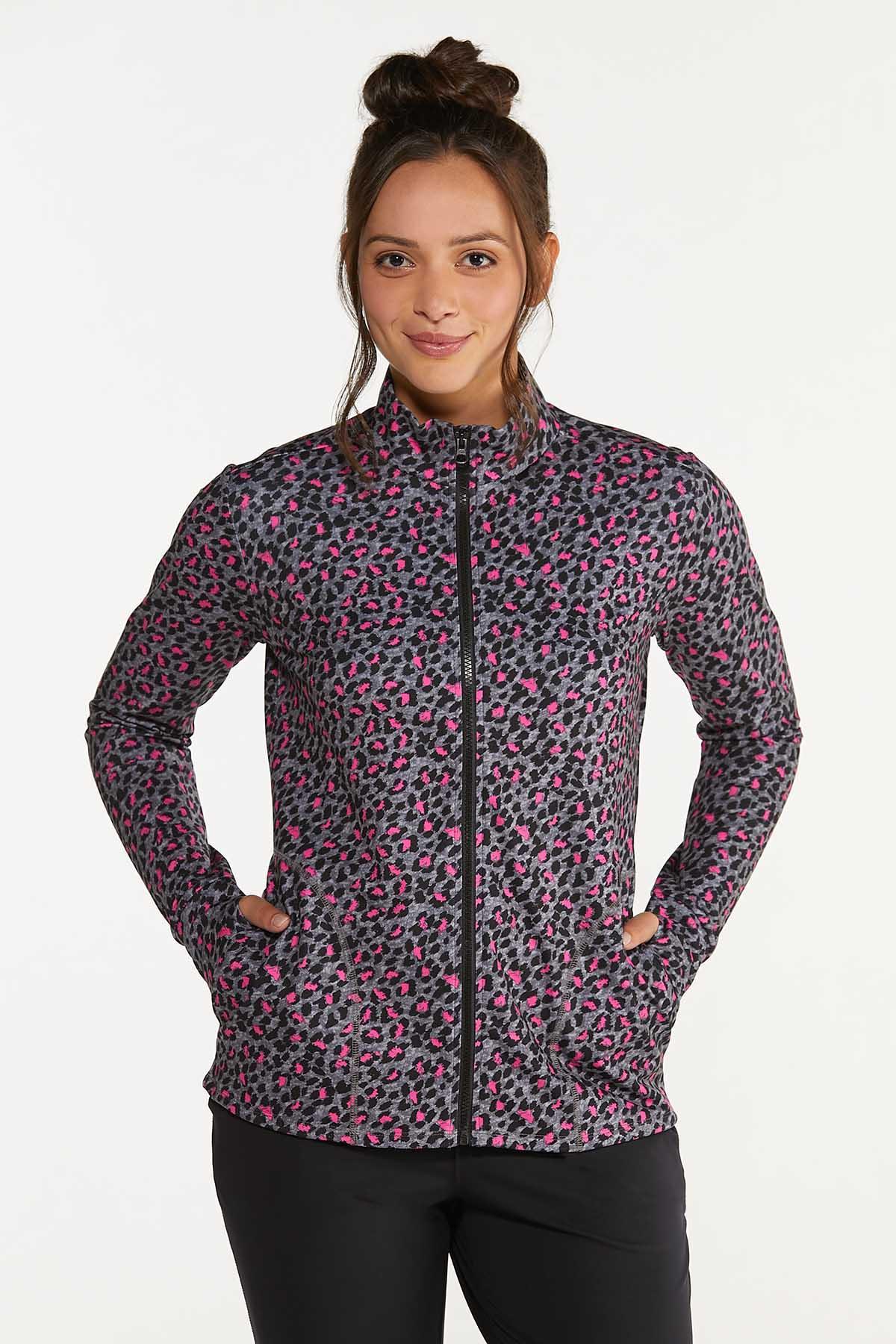 Pink Leopard Sweatshirt (Item #44662745)