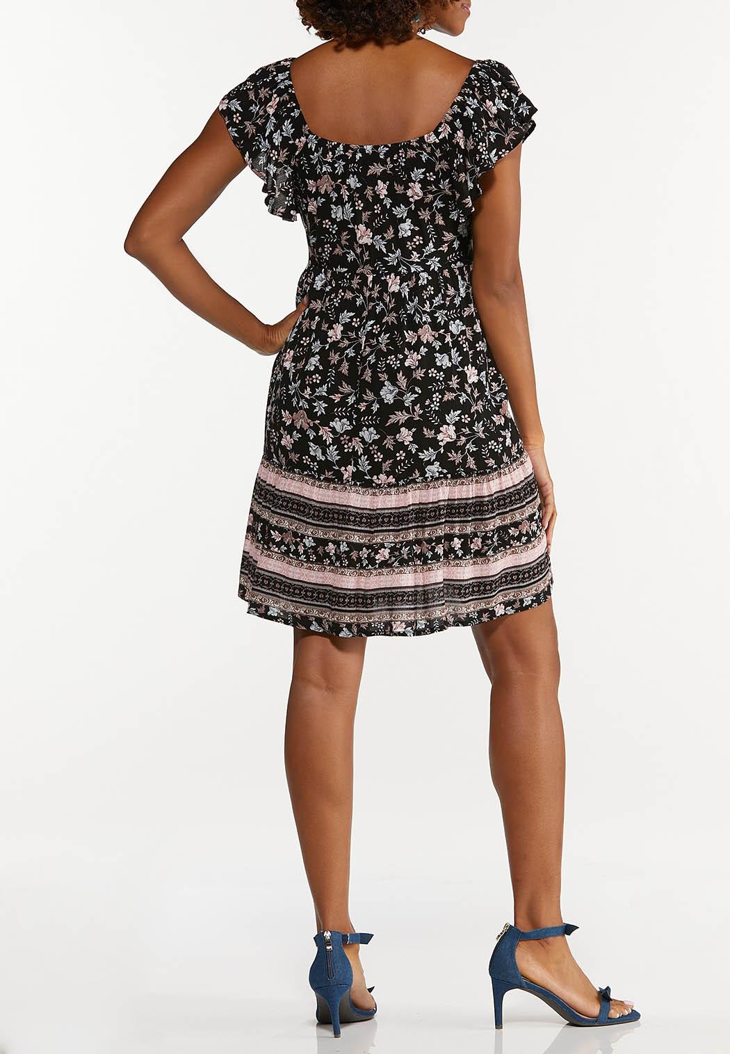 Crepe Floral Dress (Item #44663591)