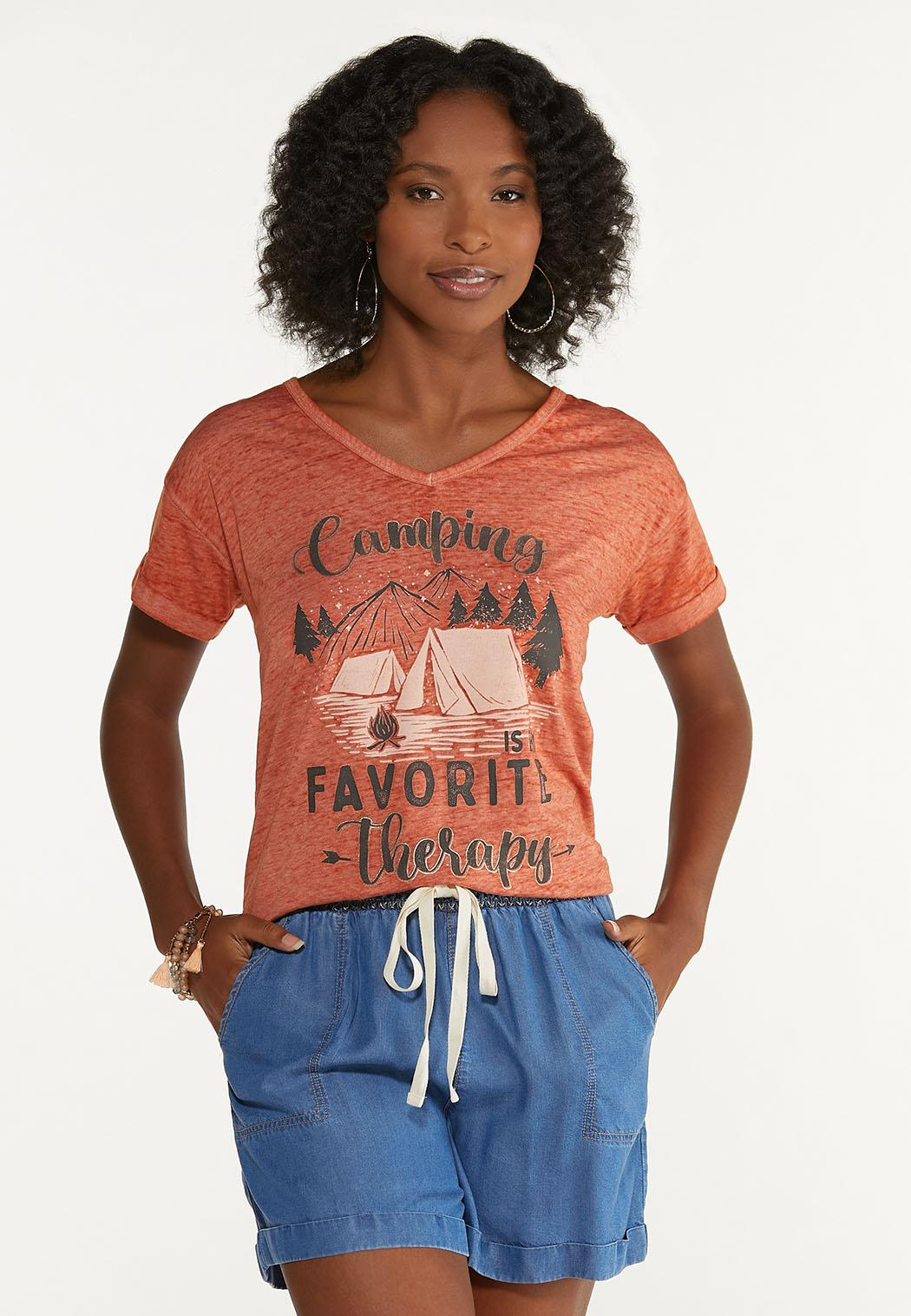 Camping Therapy Tee (Item #44663961)
