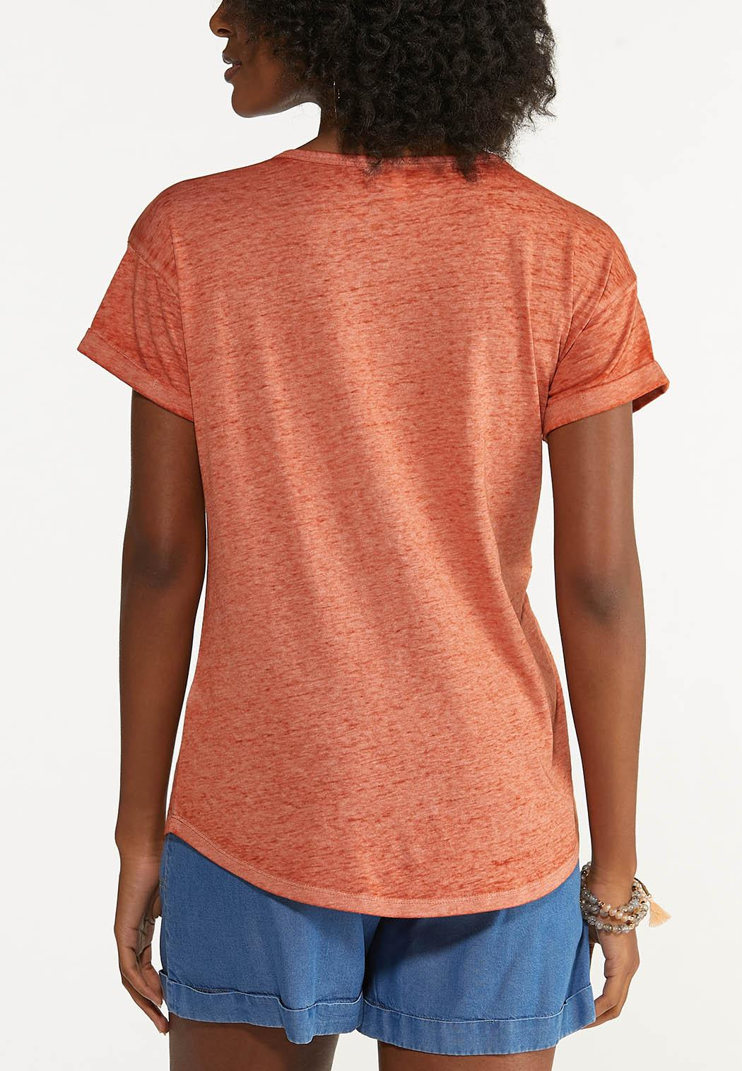 Plus Size Camping Therapy Tee (Item #44663999)