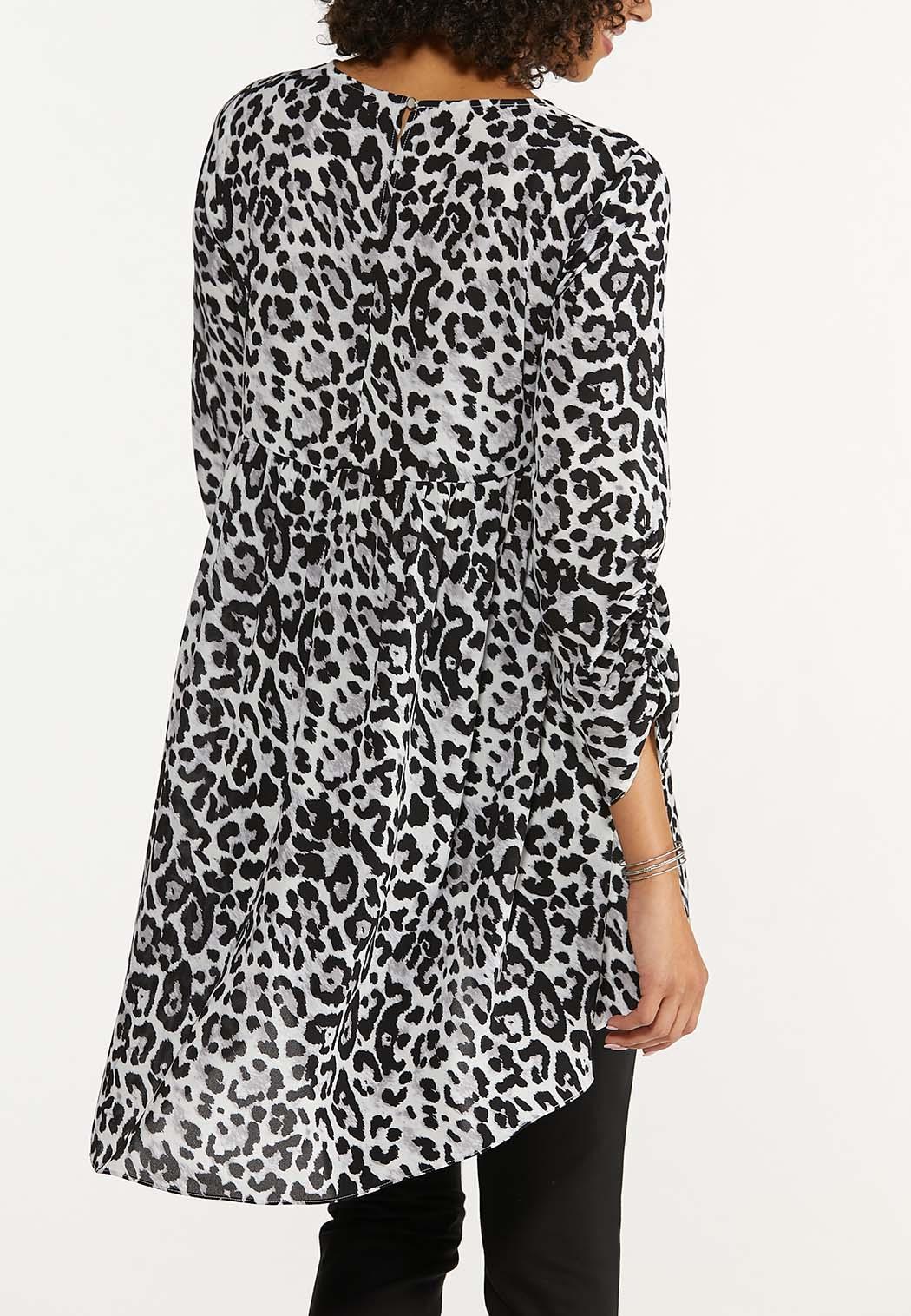 Leopard High-Low Tunic (Item #44664889)