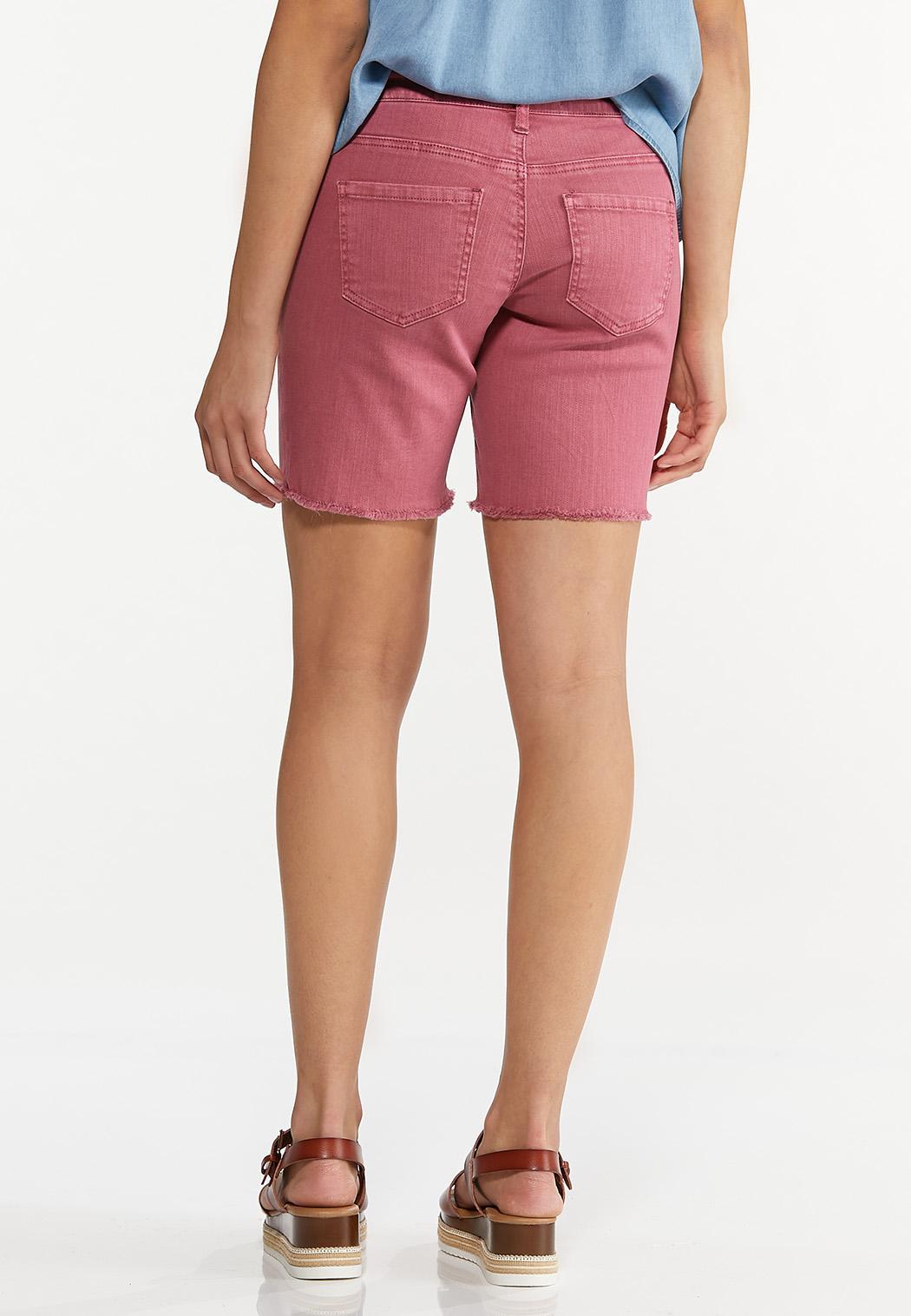 Rose Denim Shorts (Item #44666720)