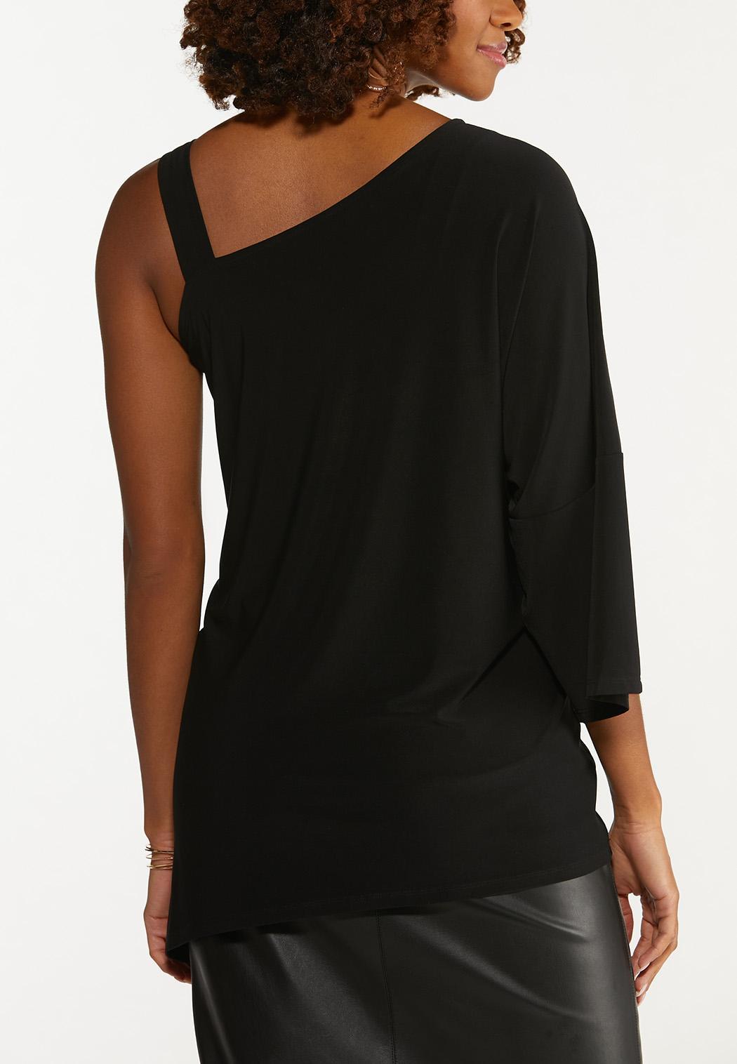 Asymmetrical One Shoulder Tunic (Item #44666974)