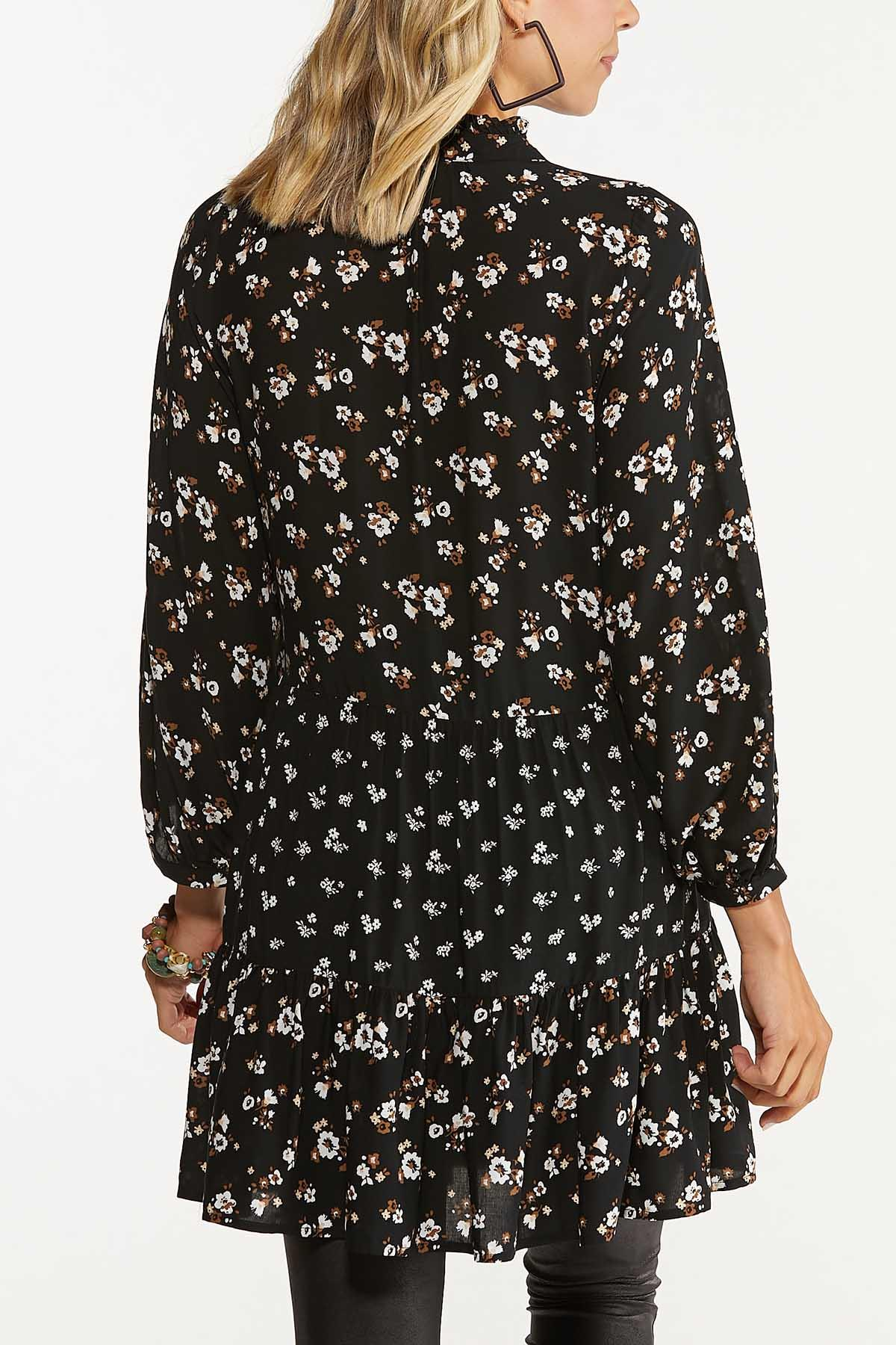 Plus Size Tiered Floral Tunic (Item #44667044)