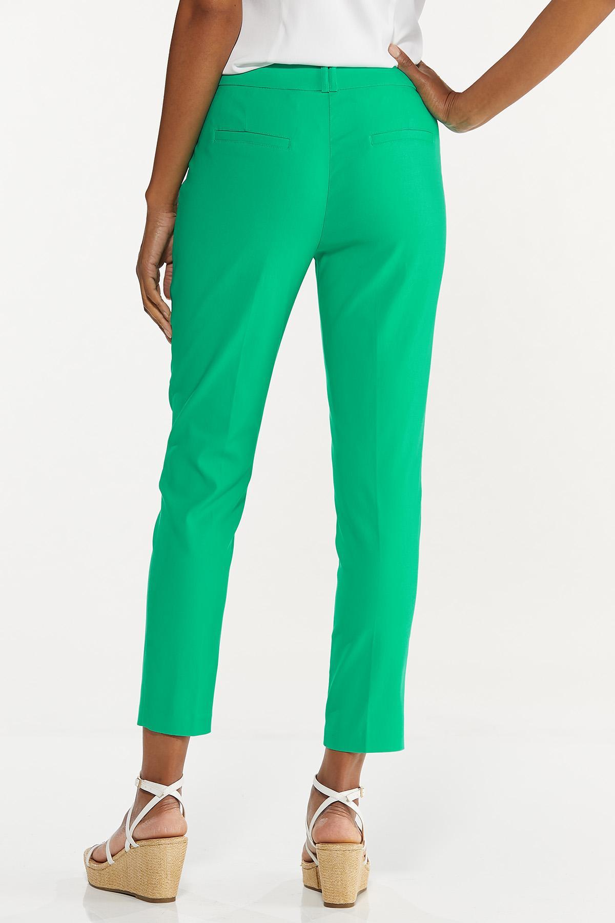 Solid Bengaline Slim Pants (Item #44667326)