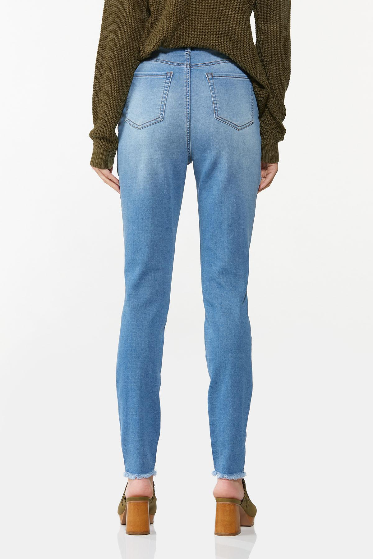 Frayed Button Fly Jeans (Item #44668161)