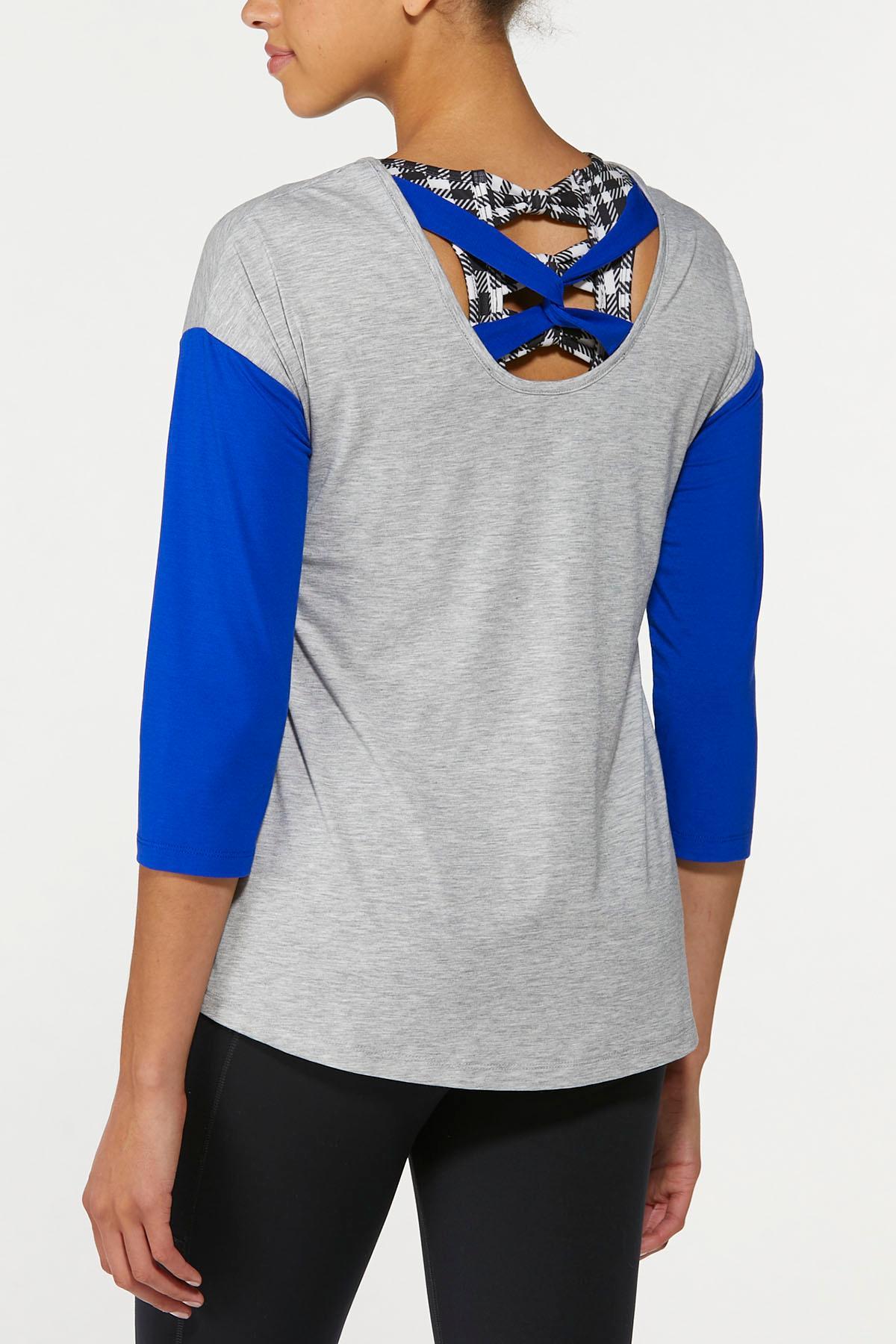 Bold Blue Twisted Tee (Item #44668317)
