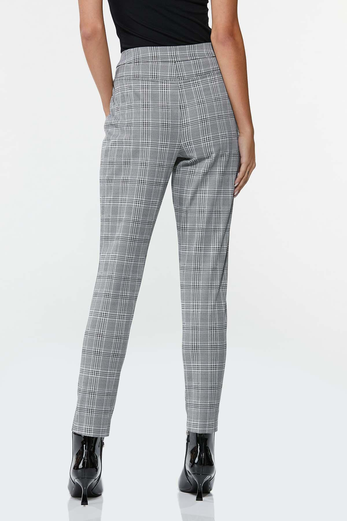 Houndstooth Slim Pants (Item #44671826)