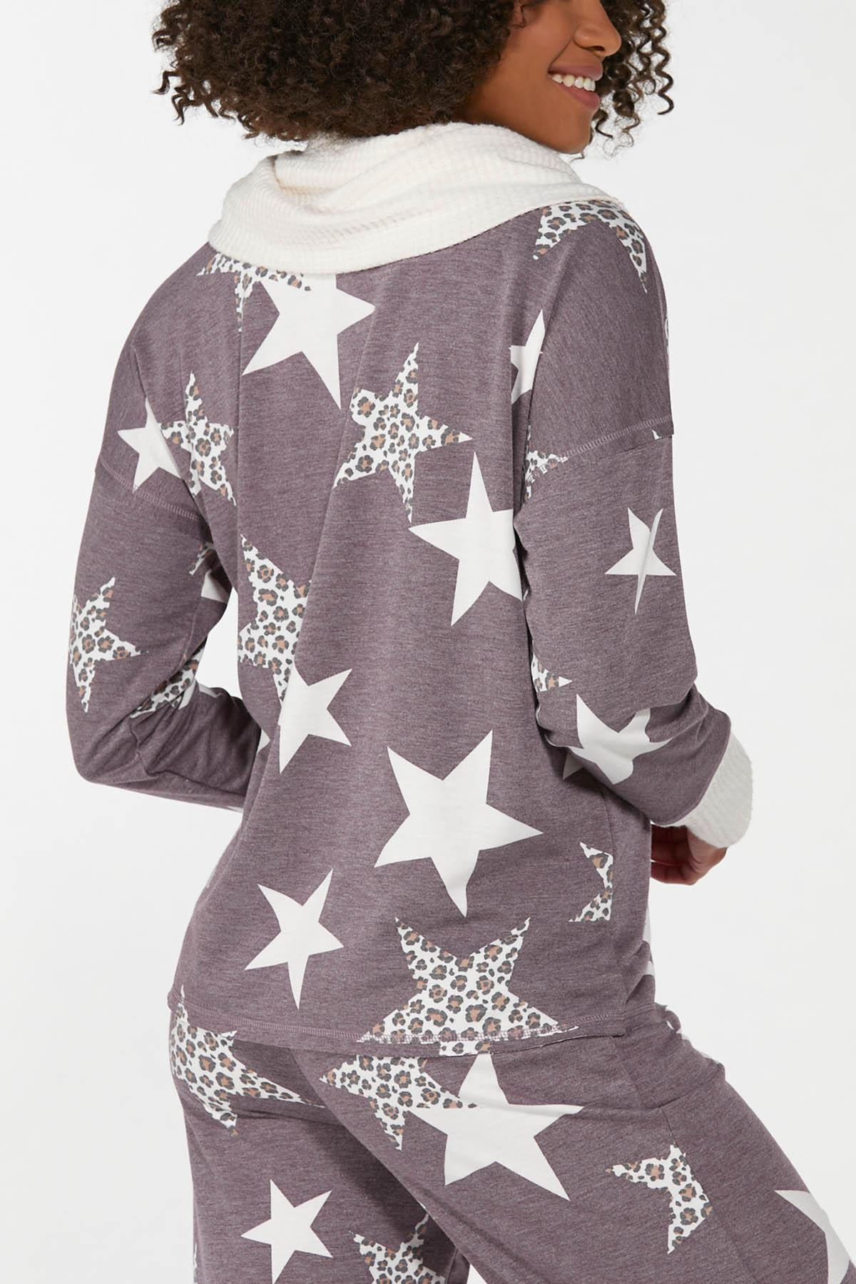 Plus Size Starry Eyed Lounge Top (Item #44673841)