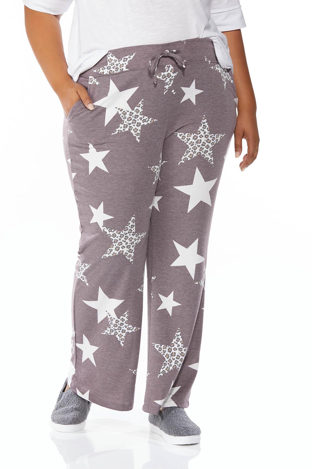Plus Size Starry Eyed Lounge Pants (Item #44673847)