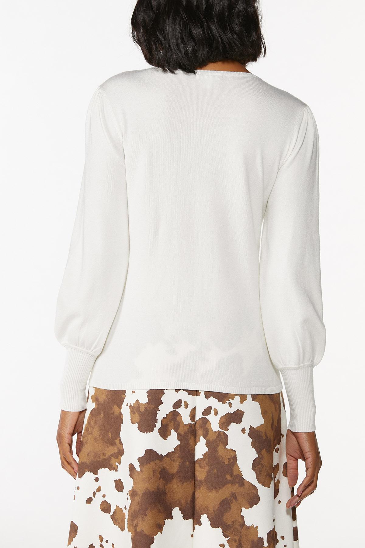 Balloon Sleeve Sweater (Item #44675153)