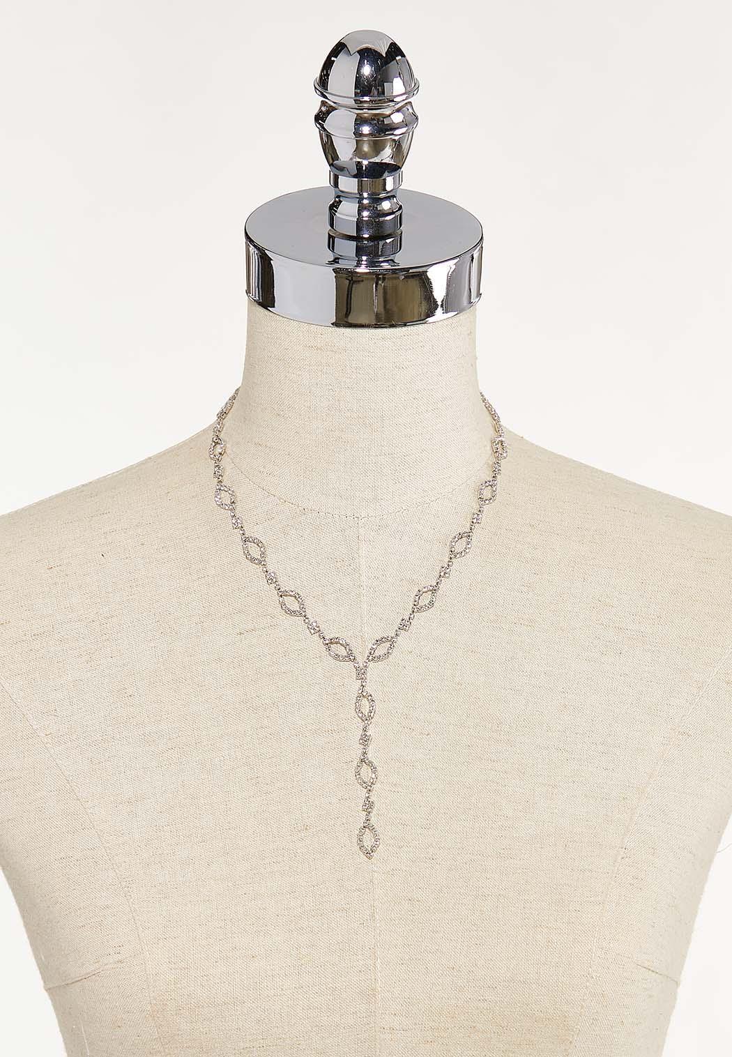 Rhinestone Y-Necklace (Item #44675168)