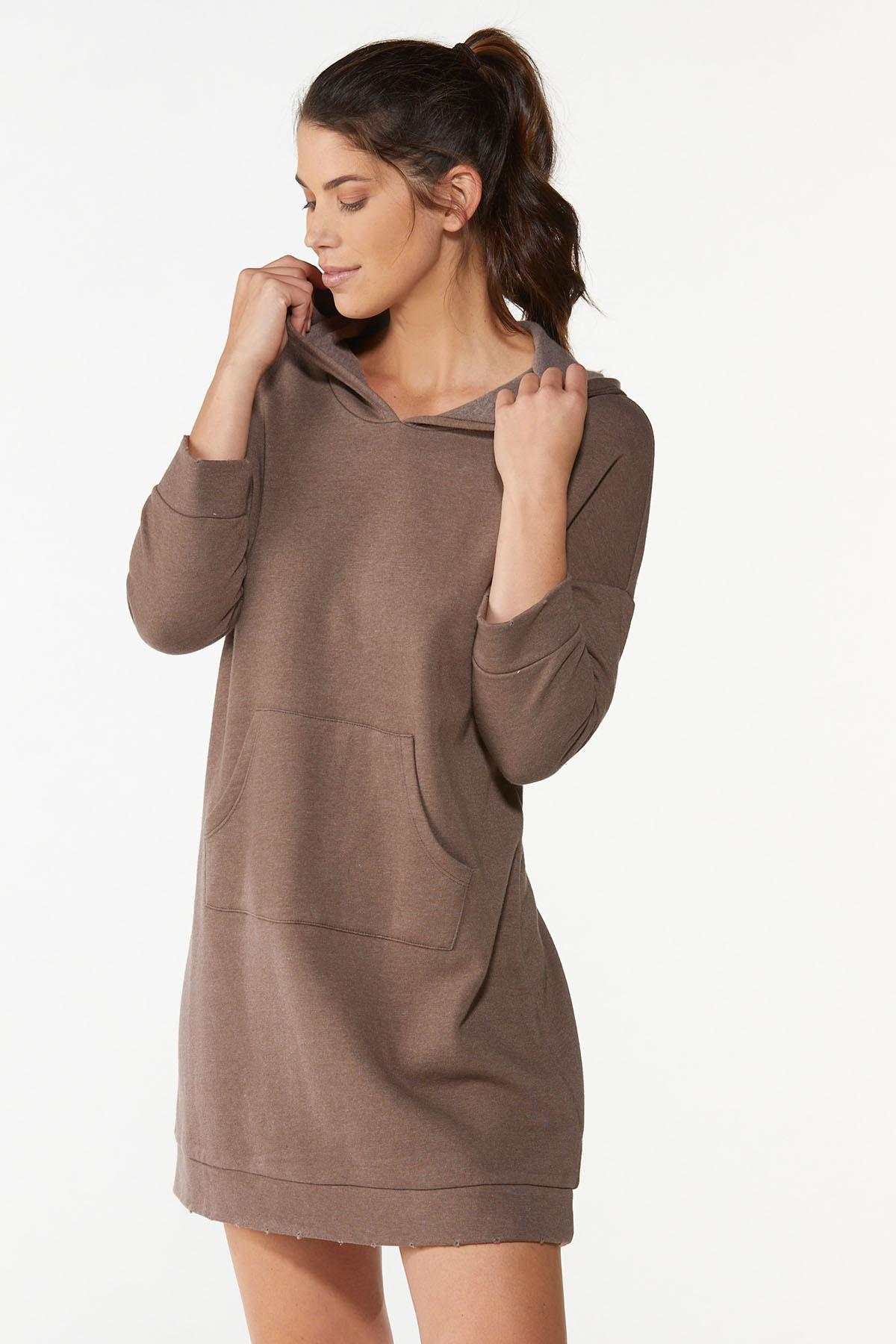 Hooded Sweatshirt Dress (Item #44675659)