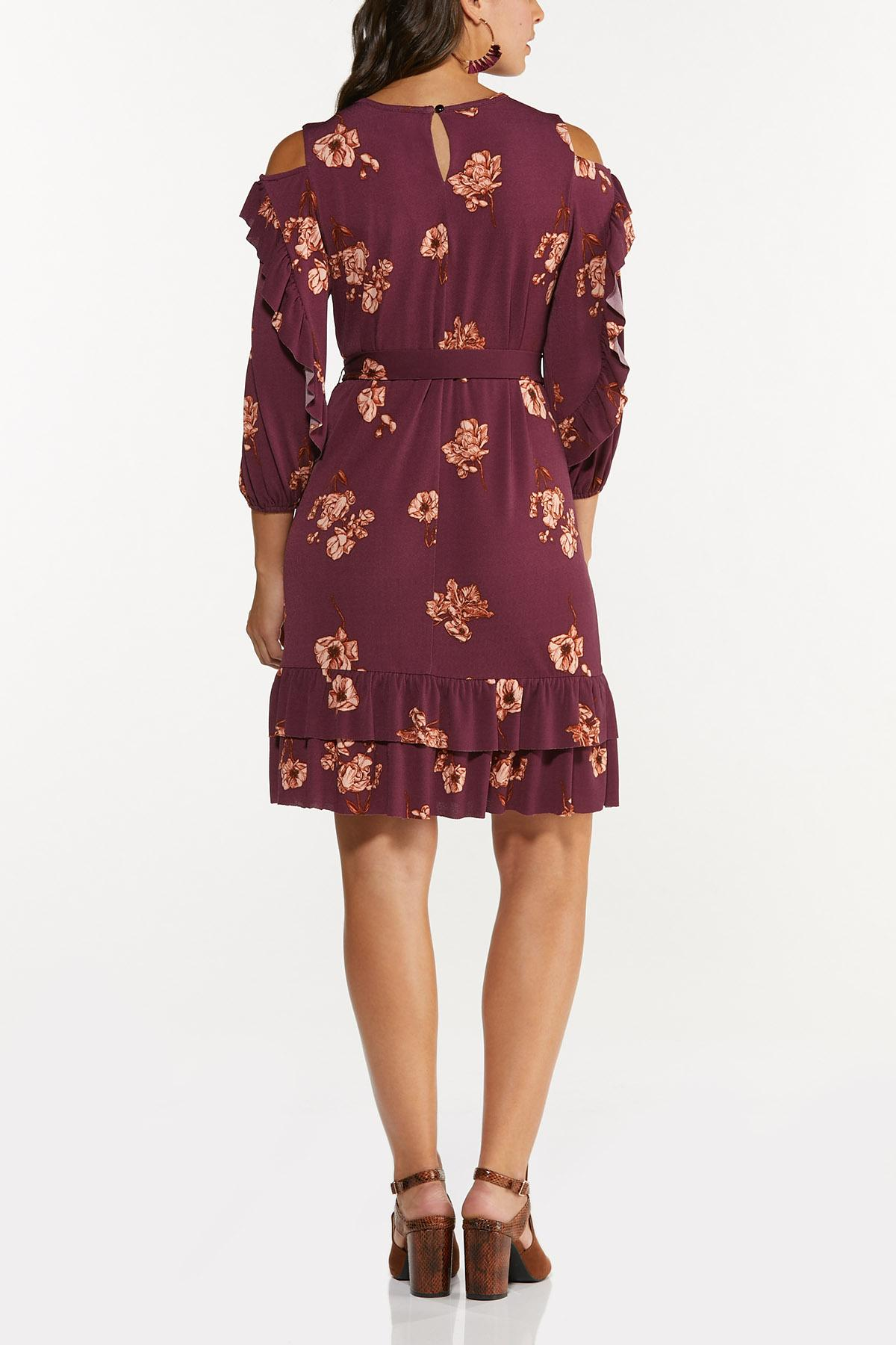 Flounced Floral Dress (Item #44678666)