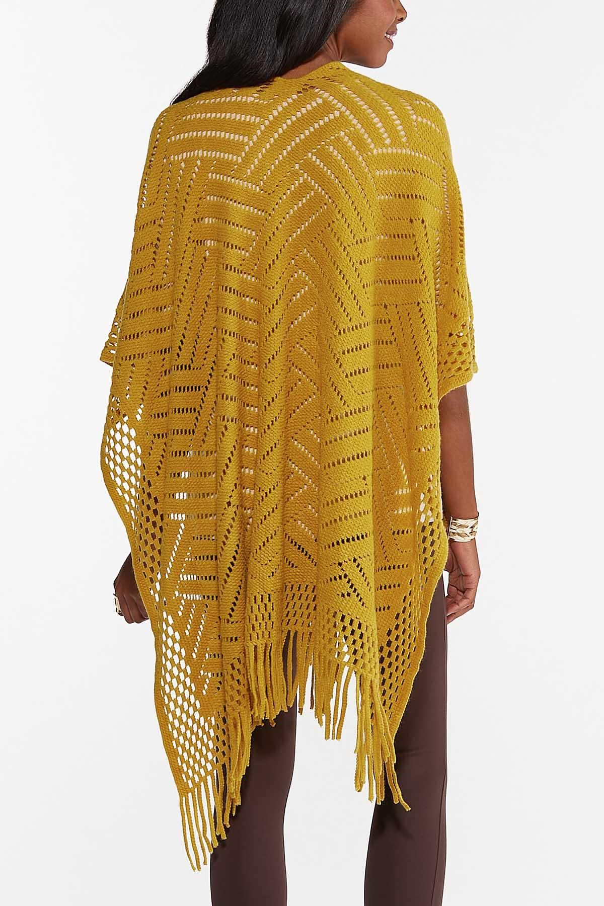 Crochet Fringe Wrap (Item #44681361)