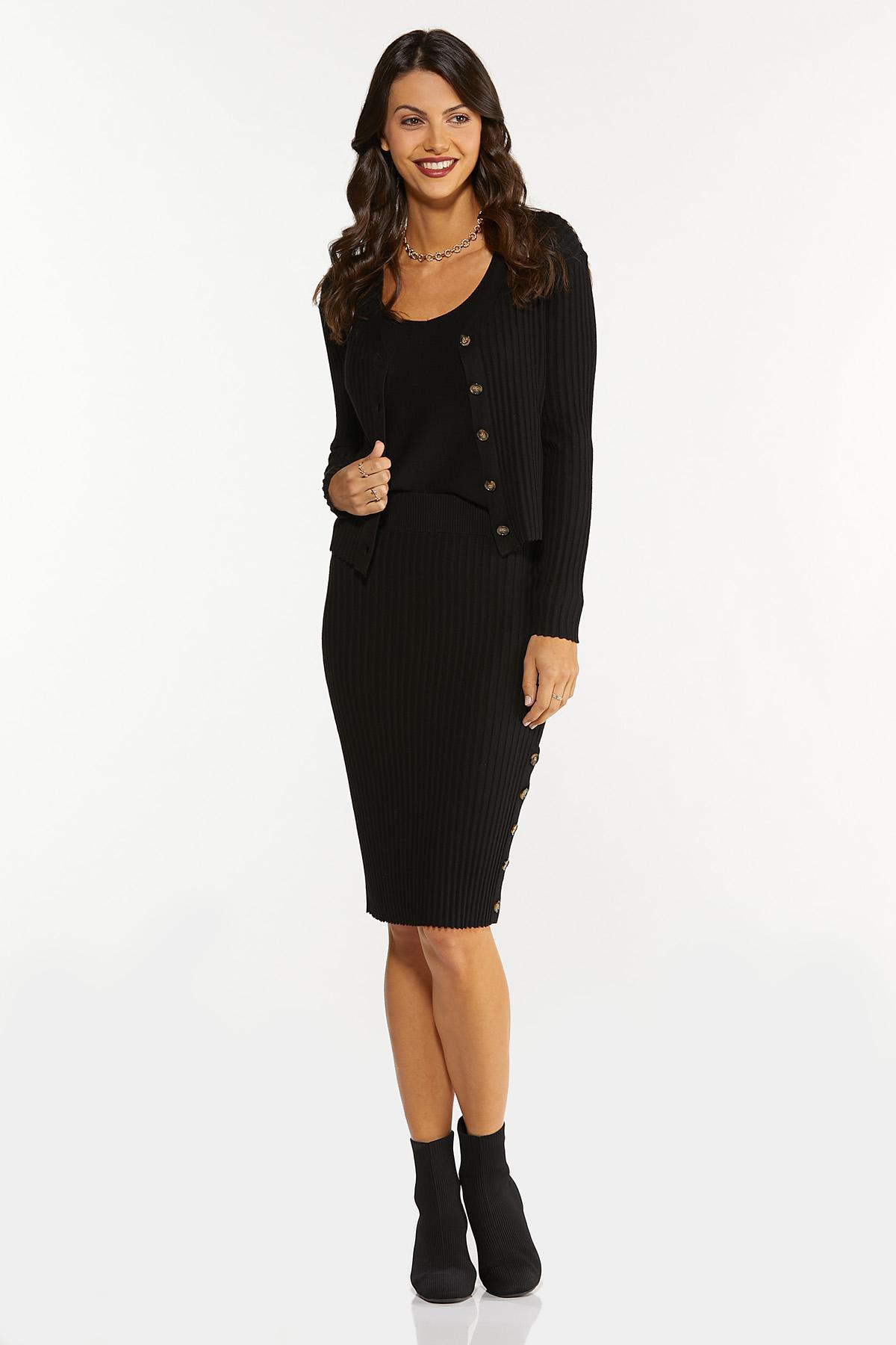 Ribbed Sweater Skirt (Item #44681691)