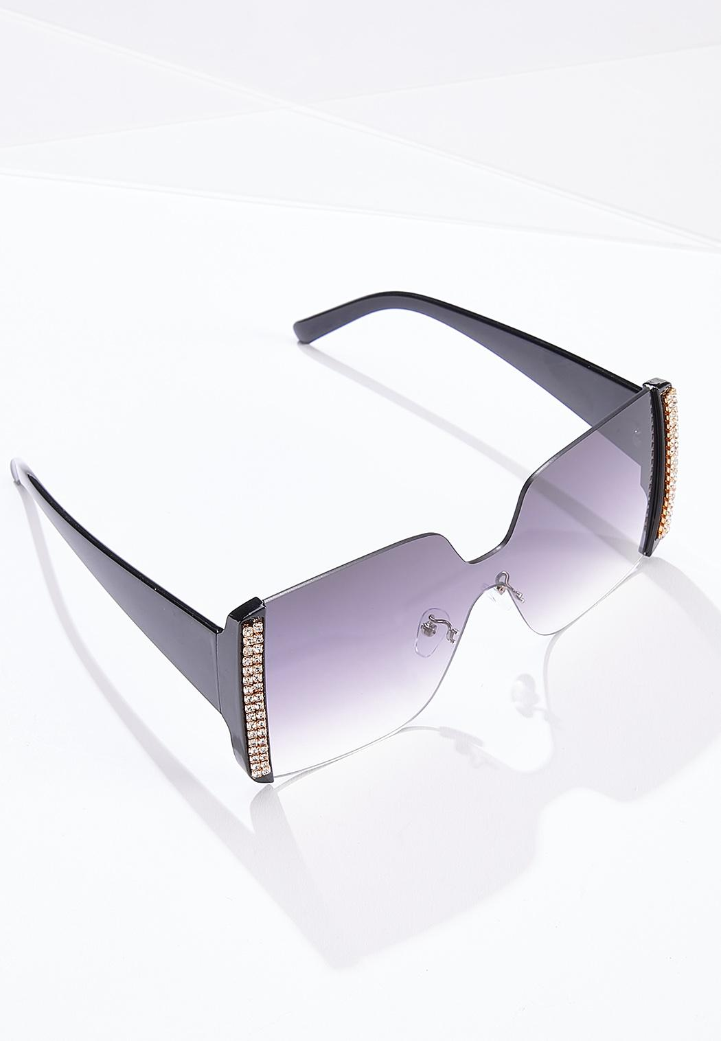 Rhinestone Detail Sunglasses (Item #44684286)