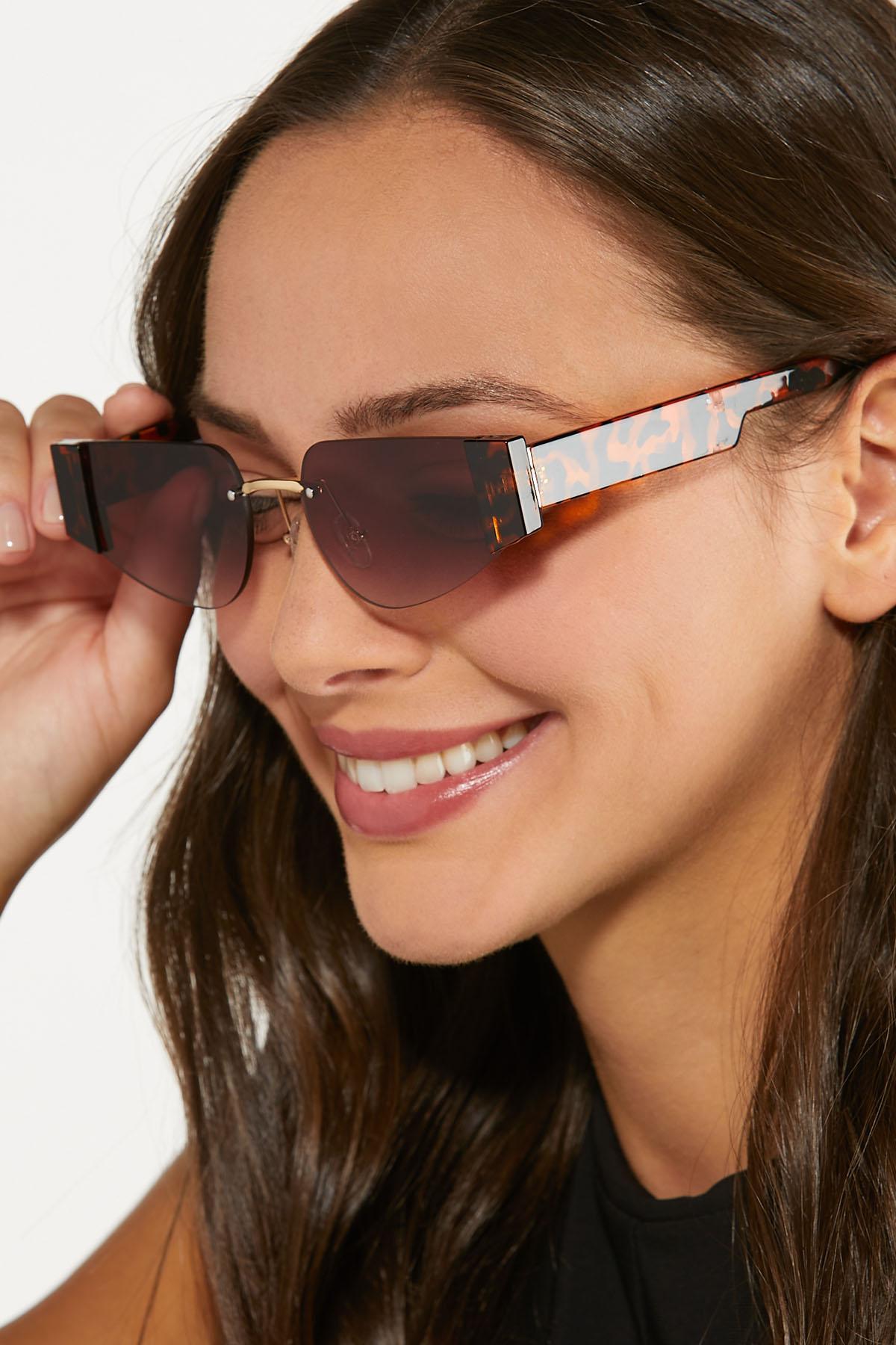 Oval Tortoise Sunglasses (Item #44684288)