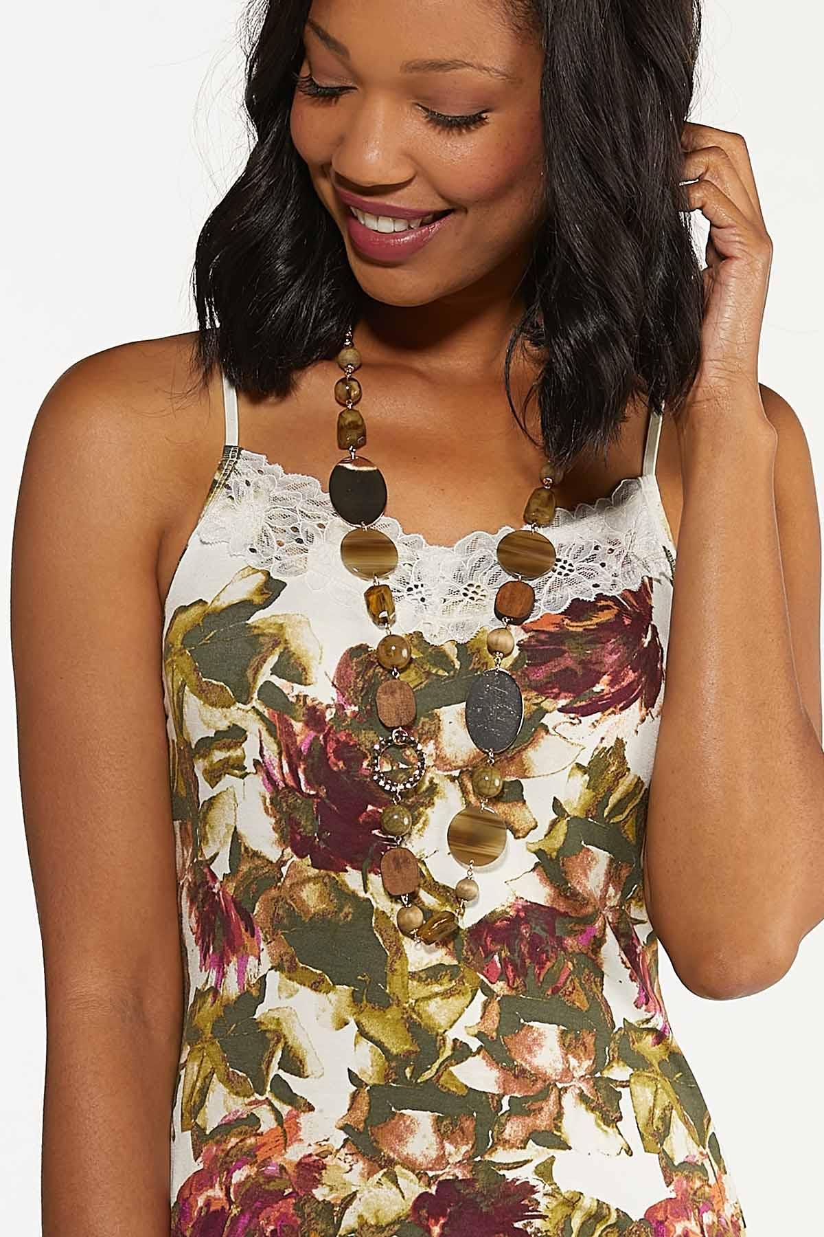 Floral Lace Cami (Item #44685285)