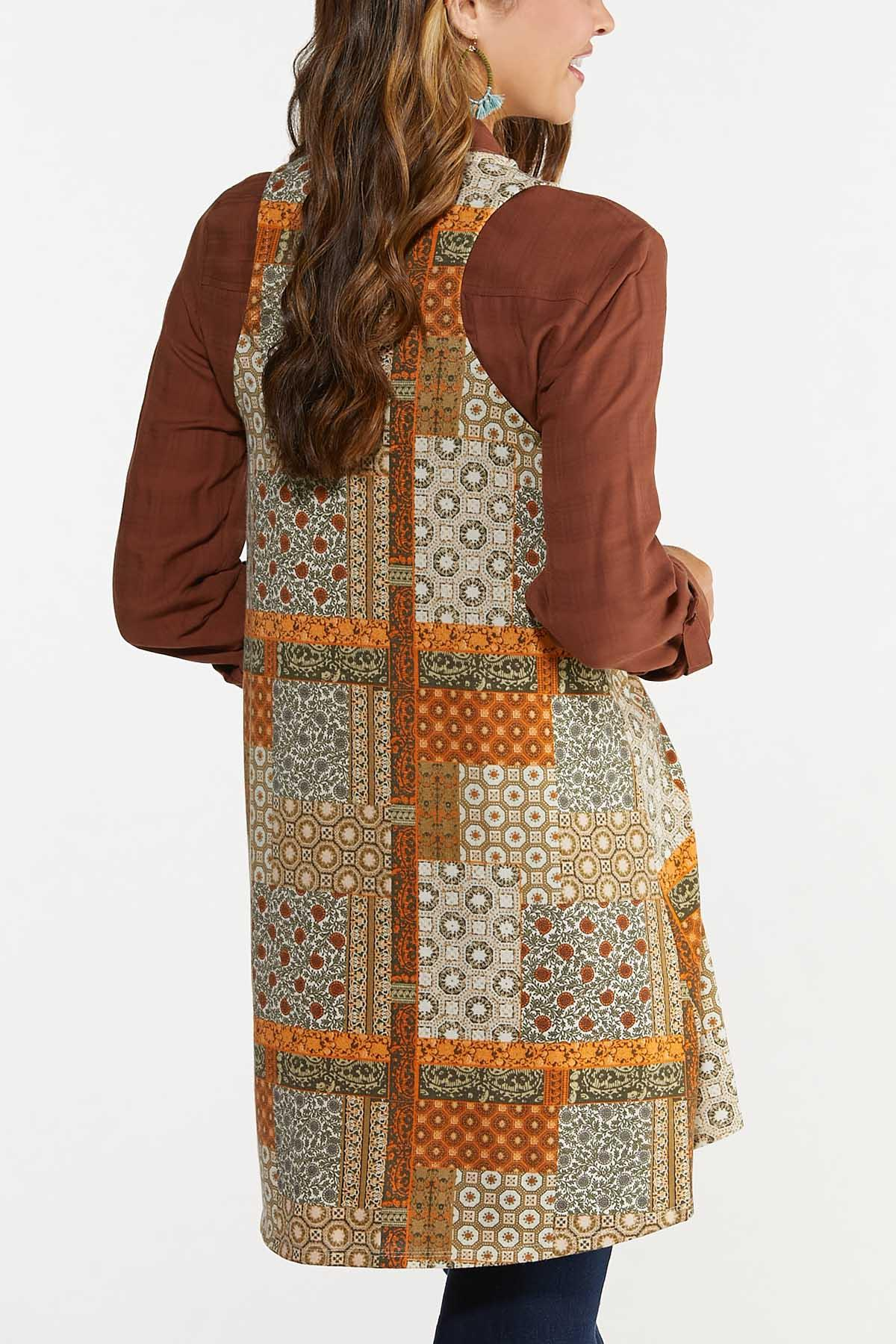 Patchwork Hacci Vest (Item #44685667)