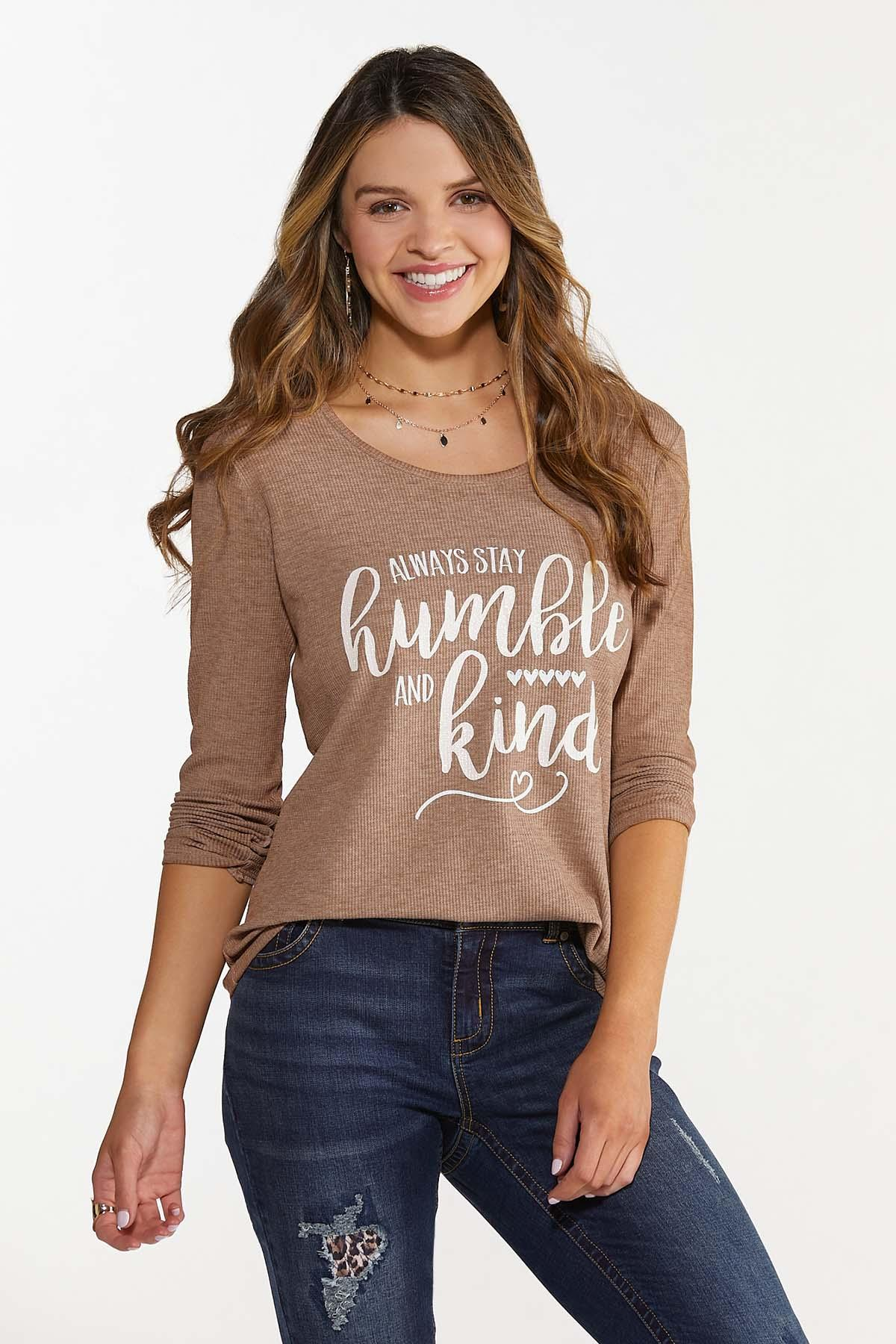 Humble And Kind Waffle Top (Item #44688134)