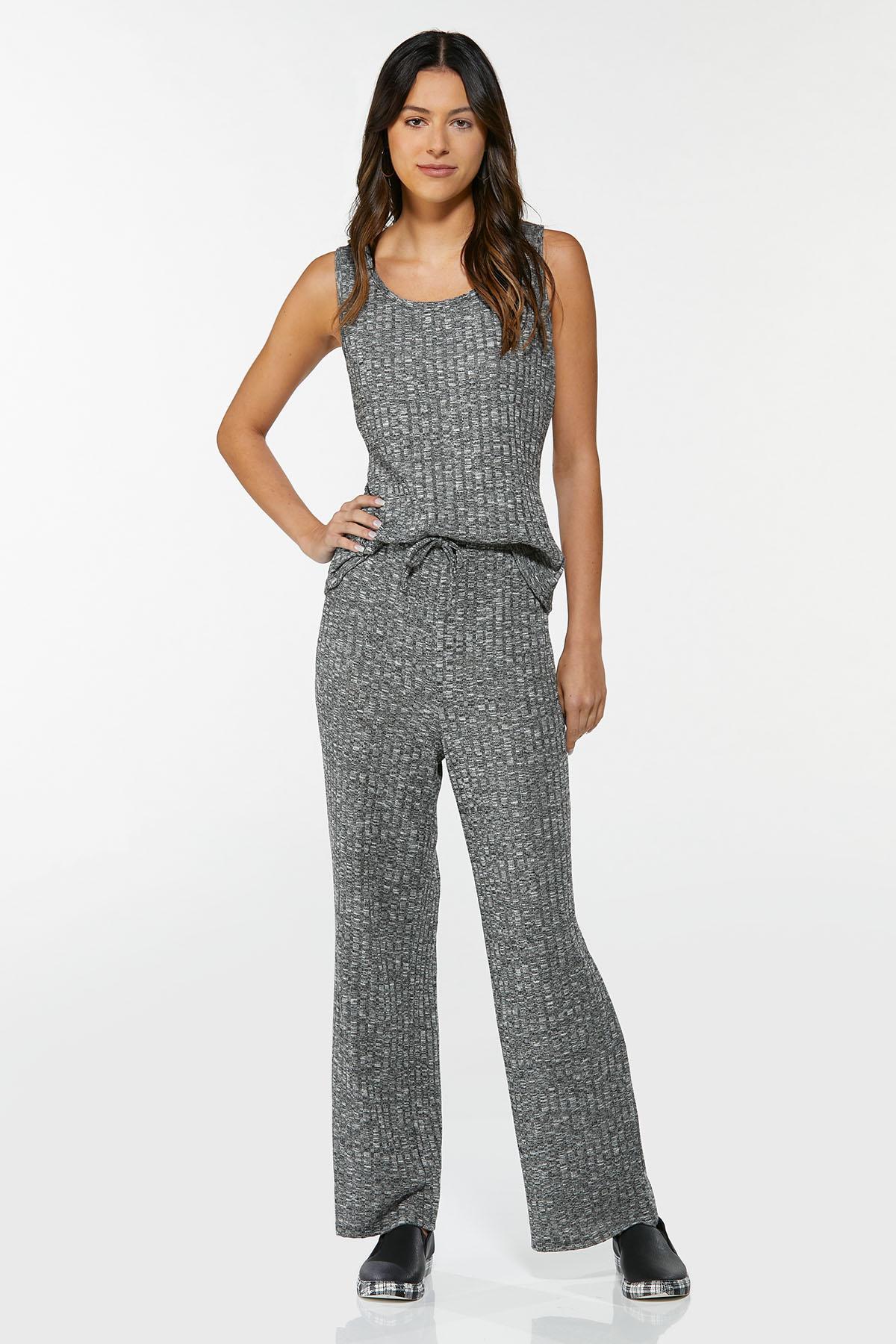 Ribbed Knit Pants (Item #44688246)