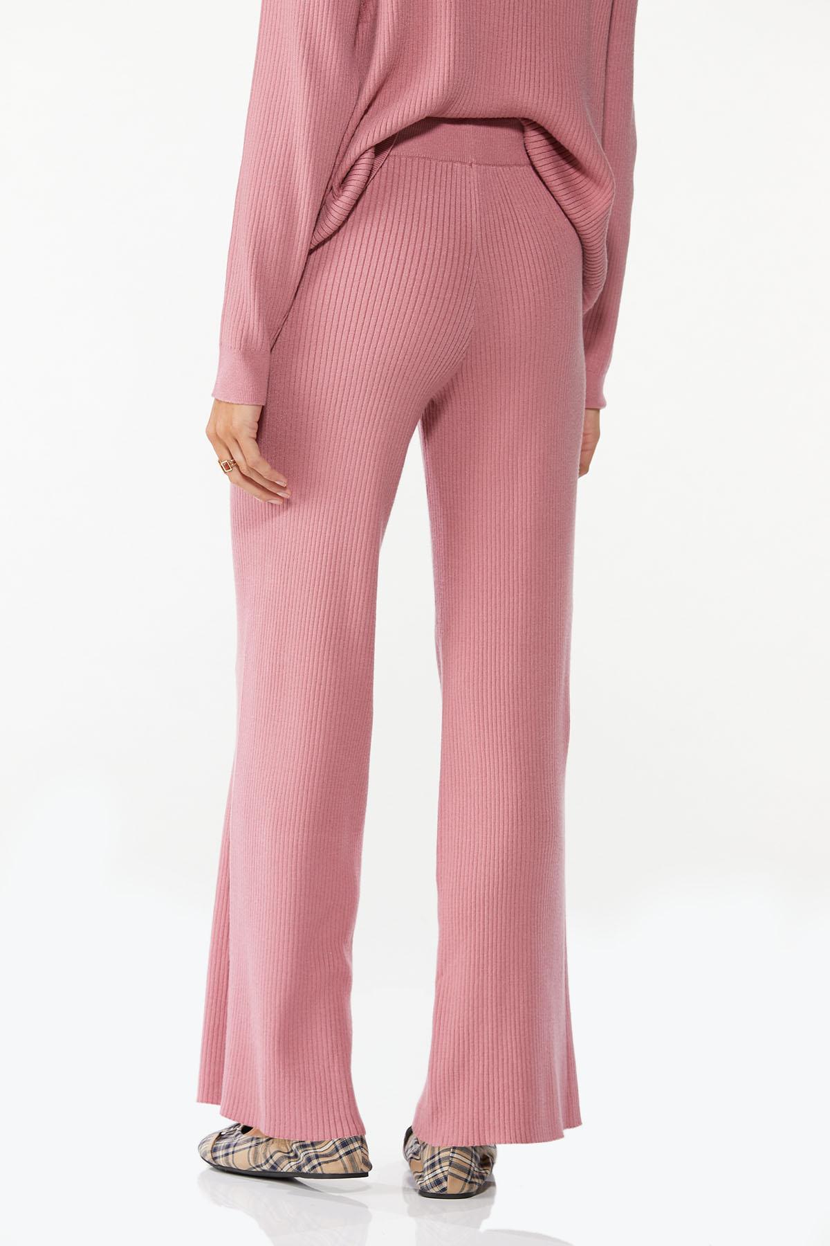 Ribbed Wide Leg Pants (Item #44688460)