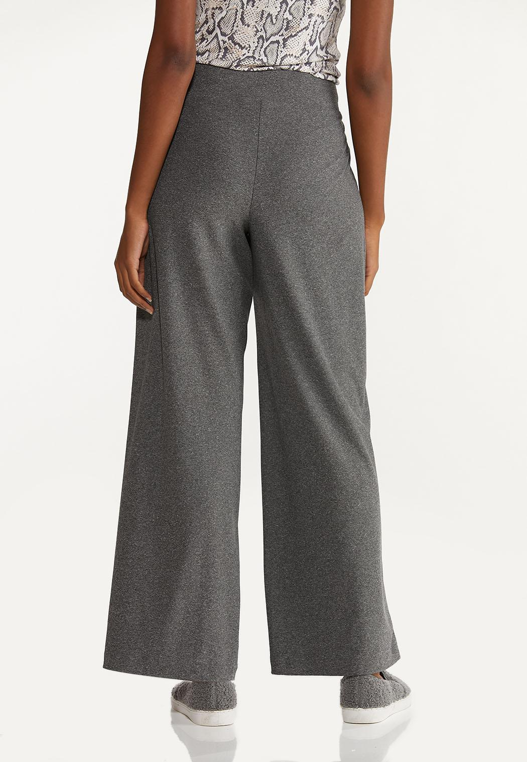 Petite Gray Drawstring Pants (Item #44689249)