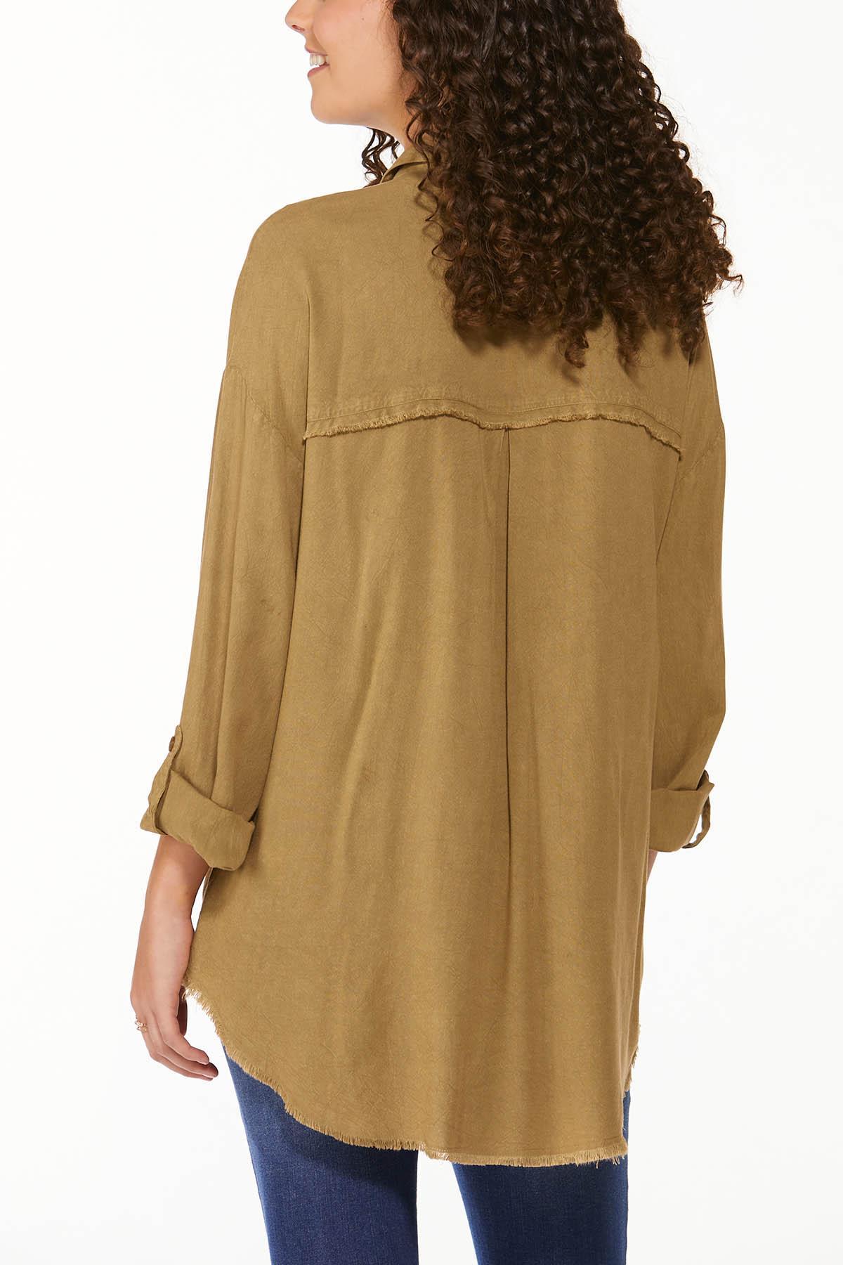 Frayed High-Low Tunic (Item #44692075)