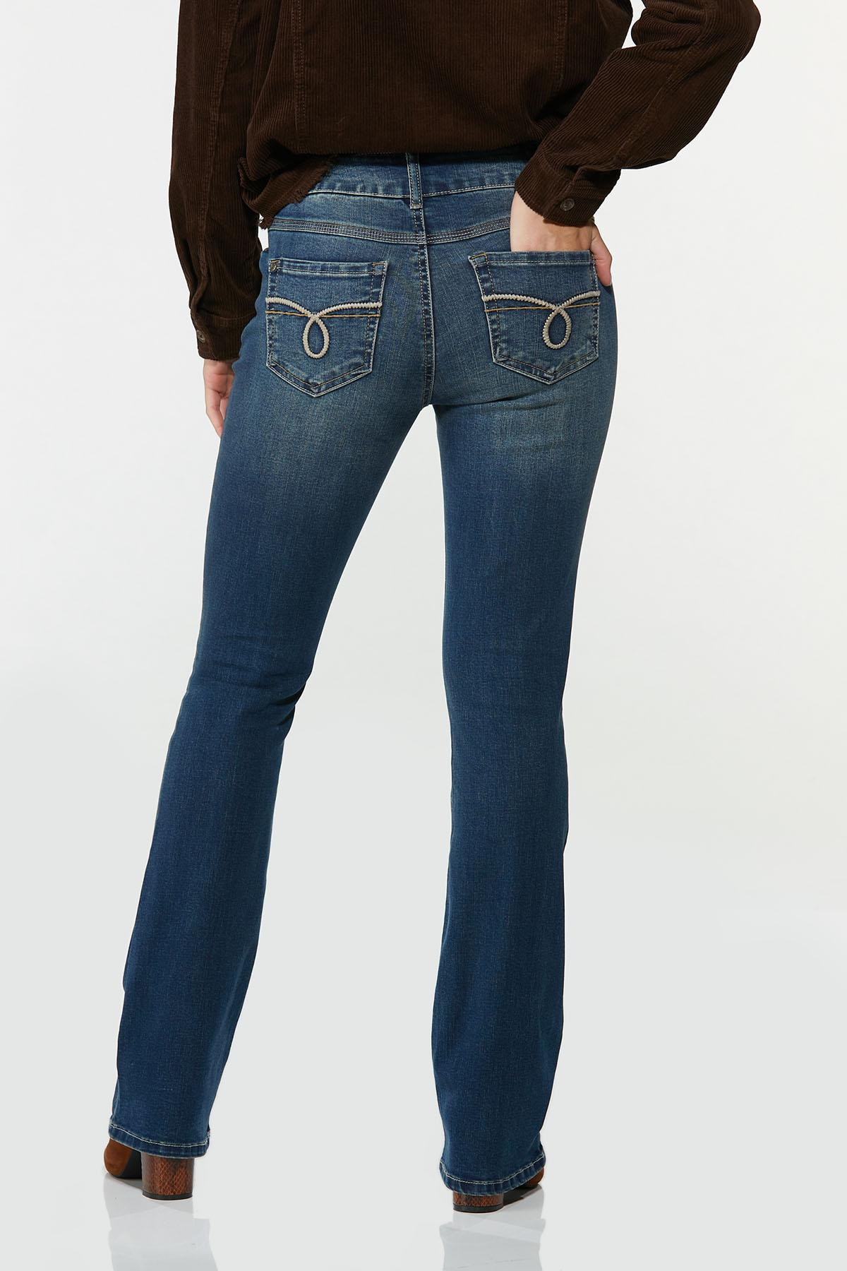 Petite Slimming Bootcut Jeans (Item #44693256)