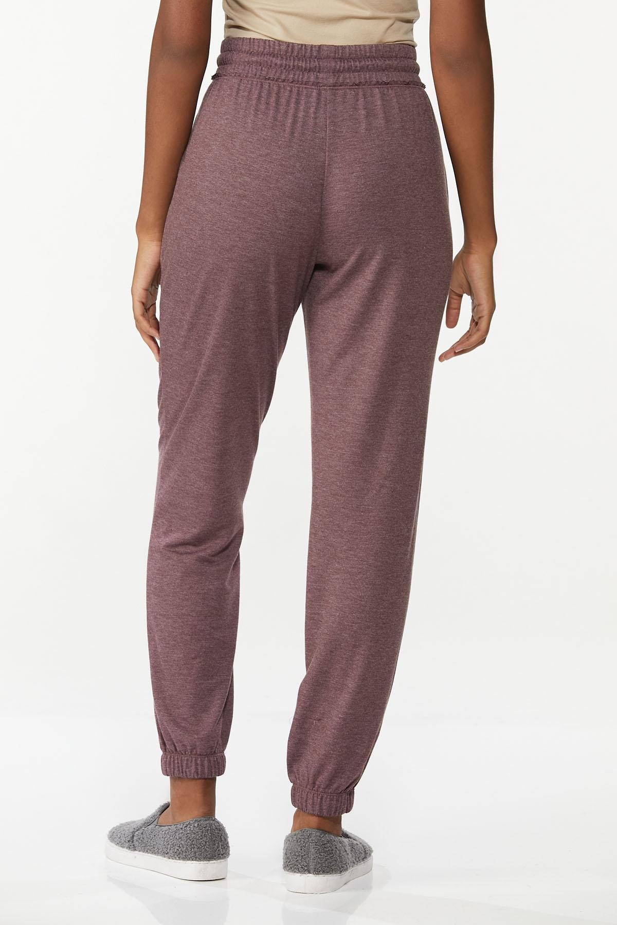 Wine French Terry Joggers (Item #44693385)