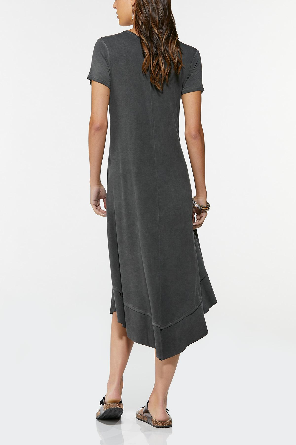 Plus Size Camo Star Shirt Dress (Item #44693624)