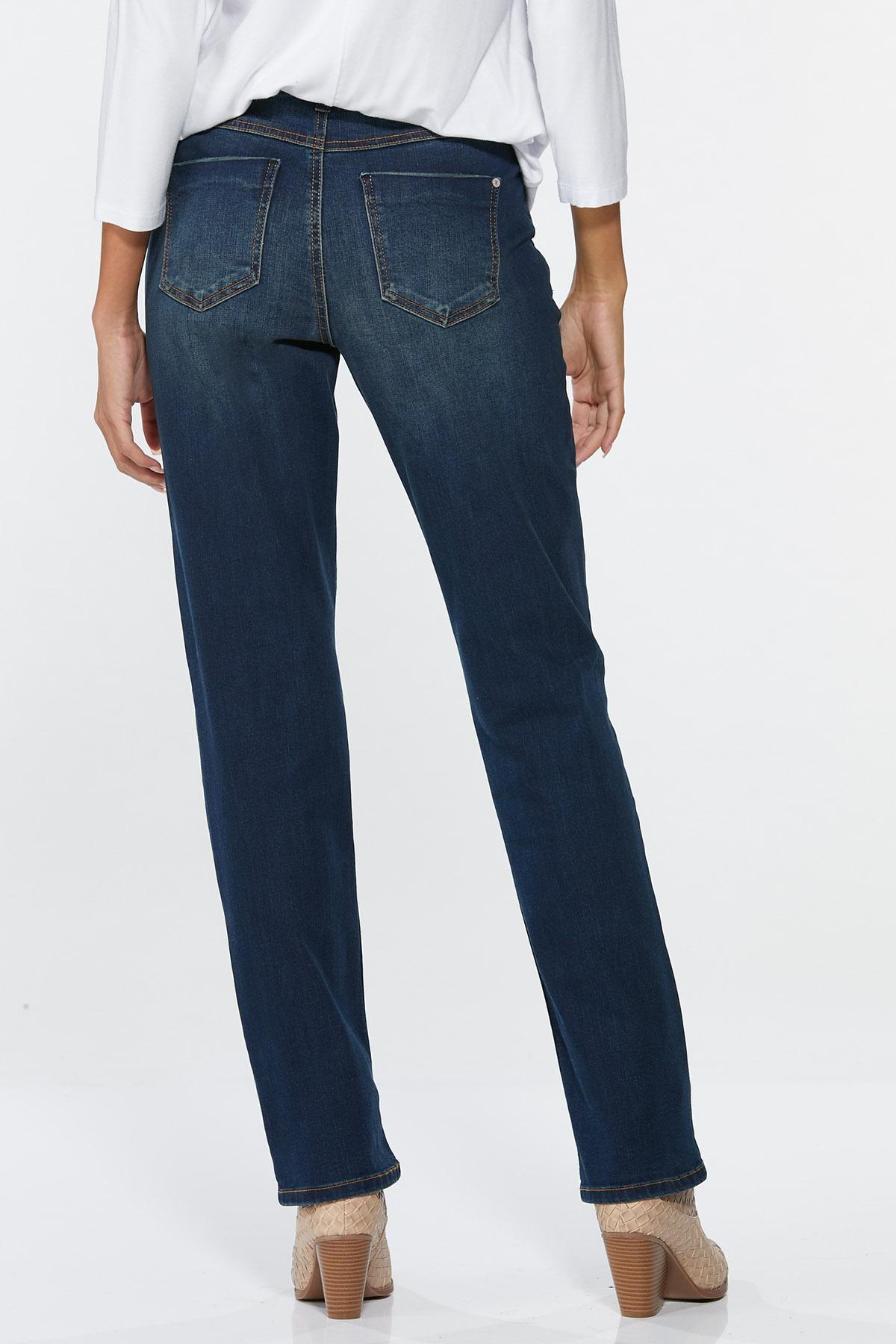 Curvy Straight Leg Jeans (Item #44693641)