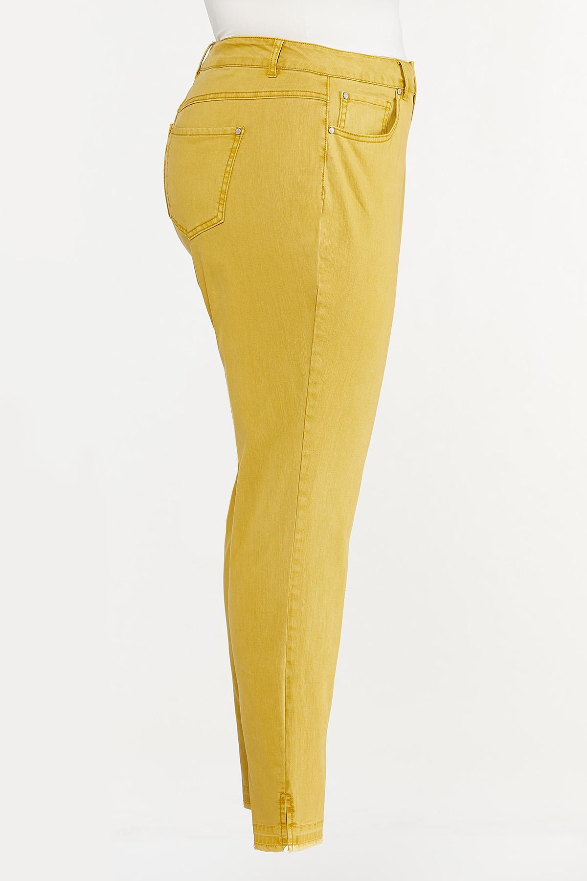 Plus Size Colored Skinny Jeans (Item #44694403)