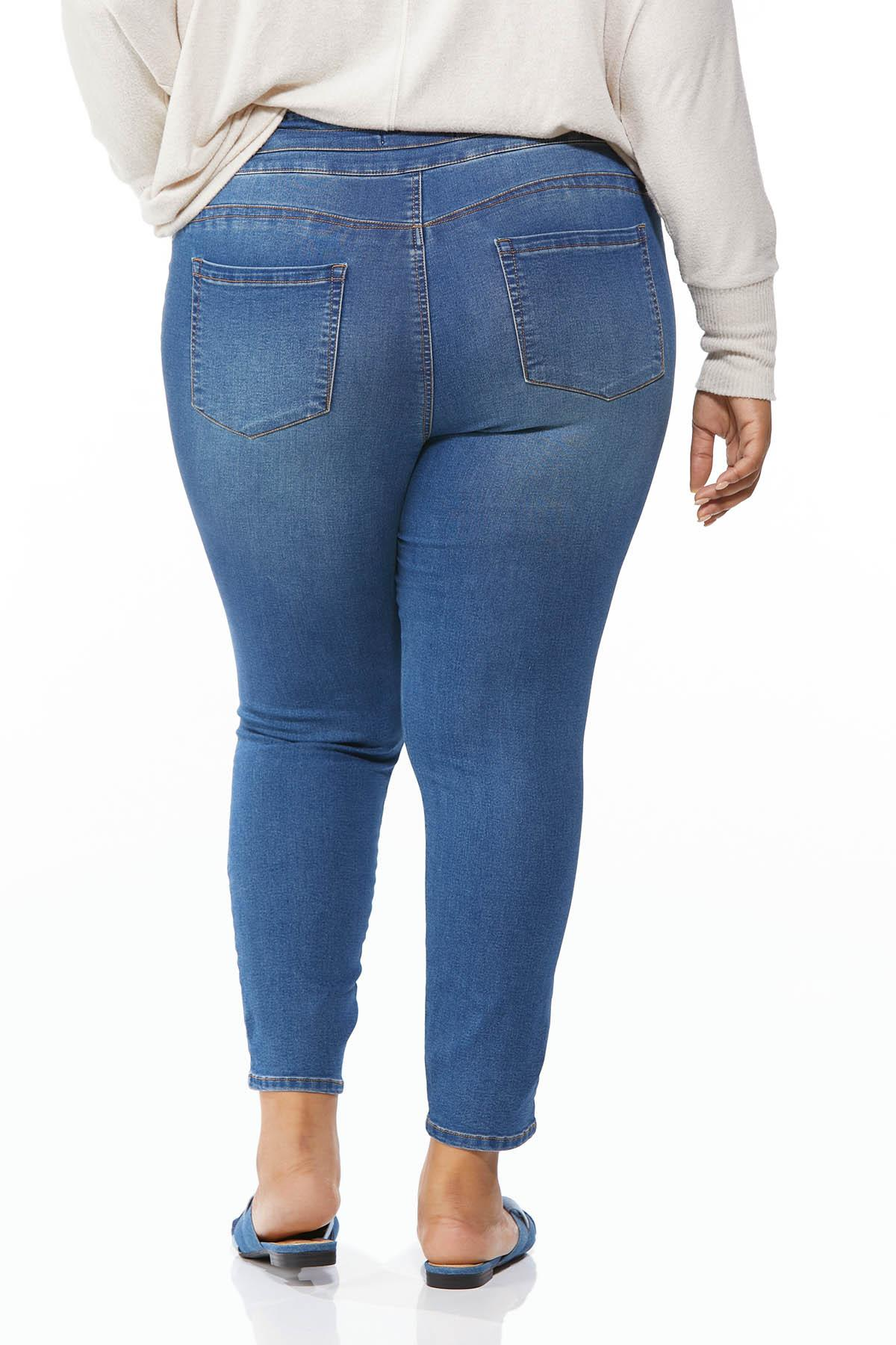 Plus Size Pull-On Jeggings (Item #44694892)