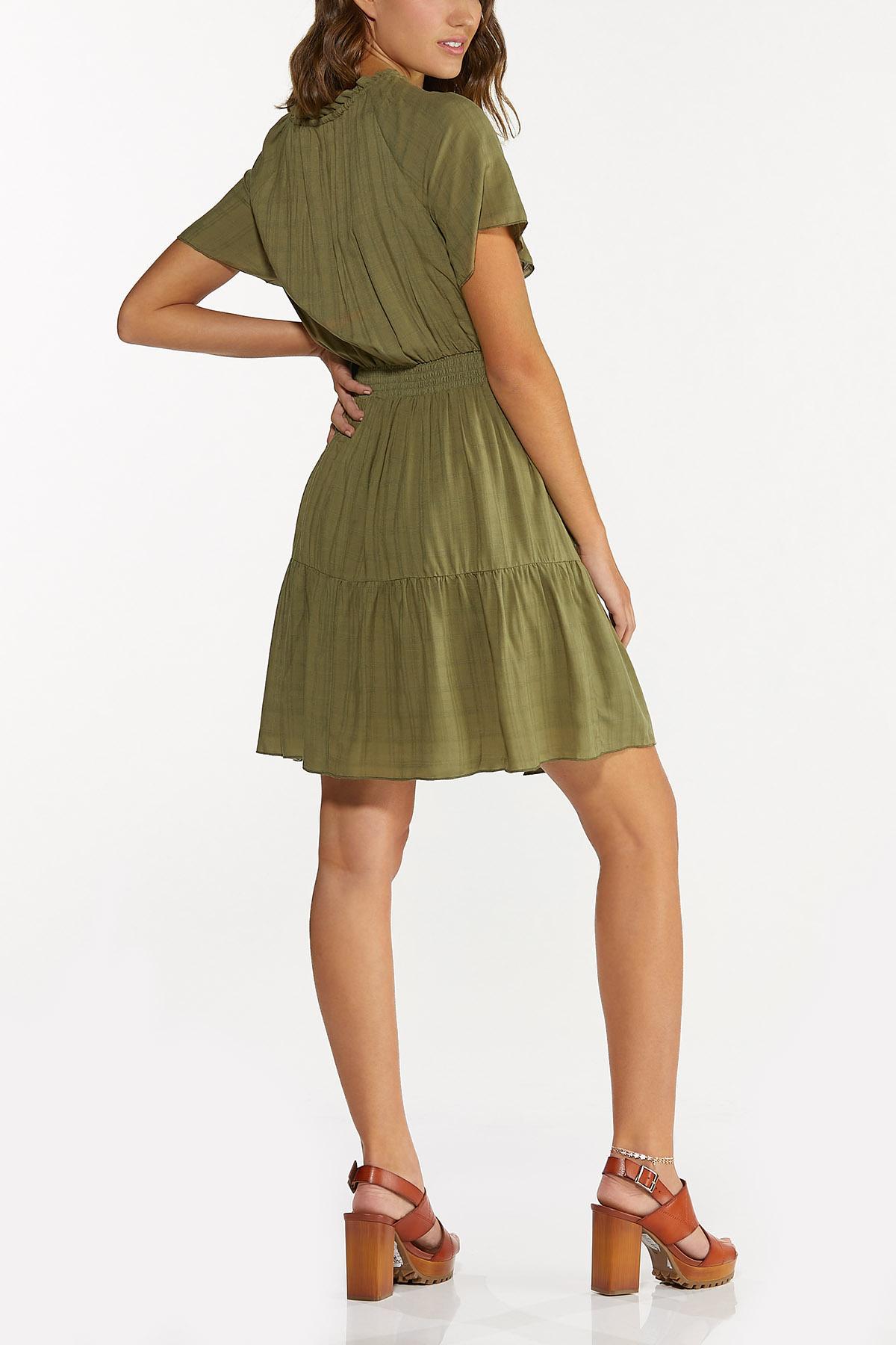 Olive Smocked Dress (Item #44696277)