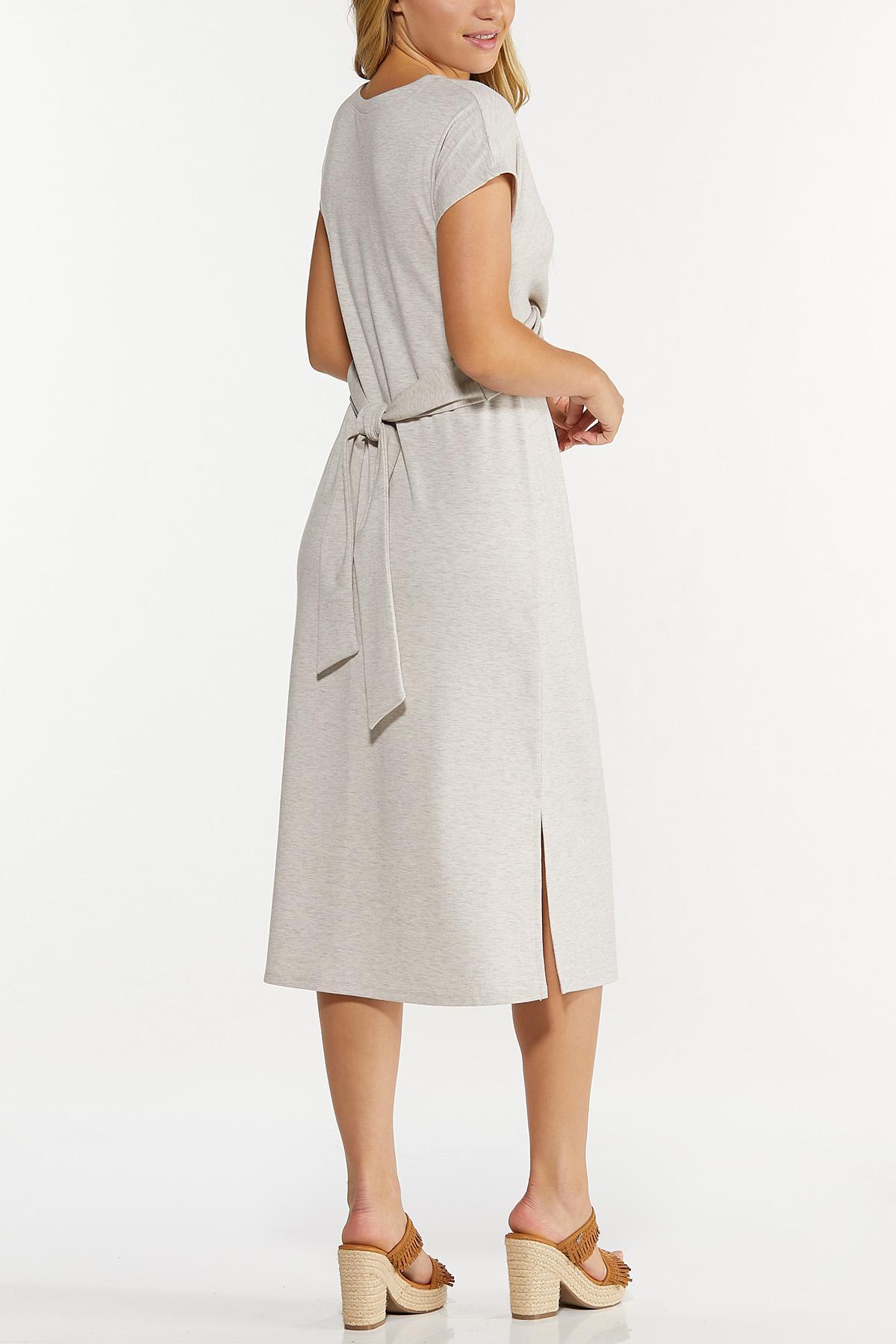 Wrap Waist Midi Dress (Item #44696344)