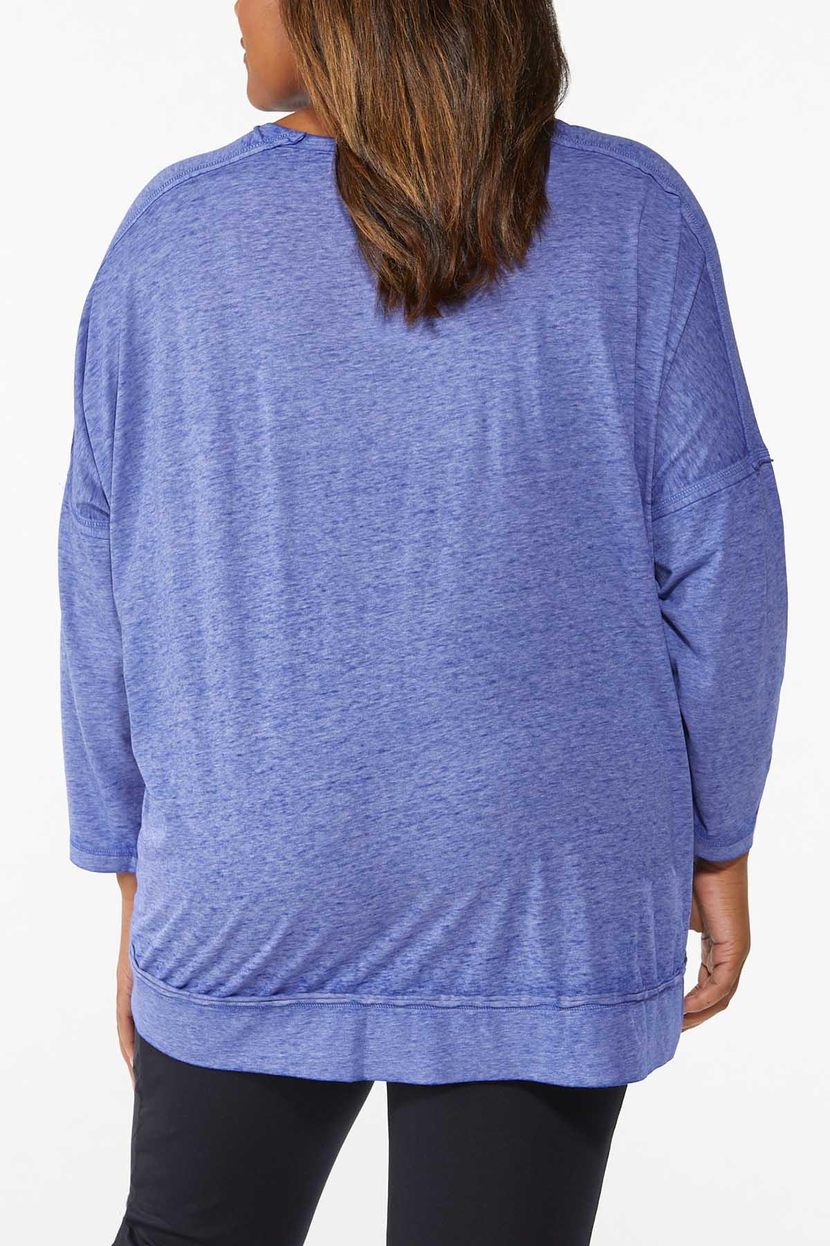 Plus Size Relaxed Active Top (Item #44697151)
