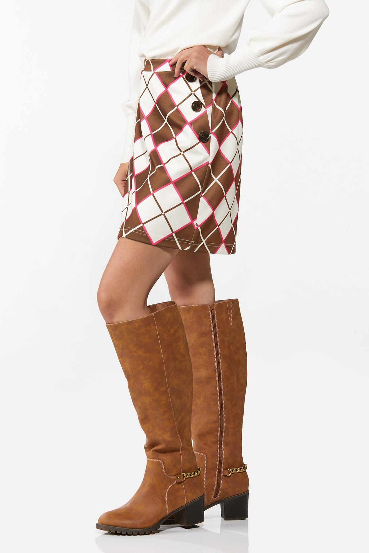 Argyle Mini Skirt (Item #44697422)