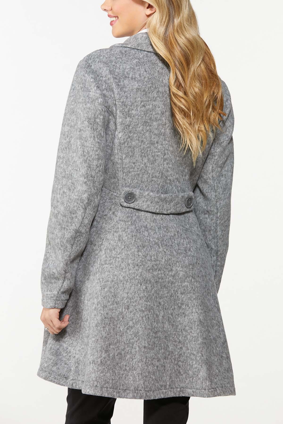 Double Button Long Coat (Item #44697492)