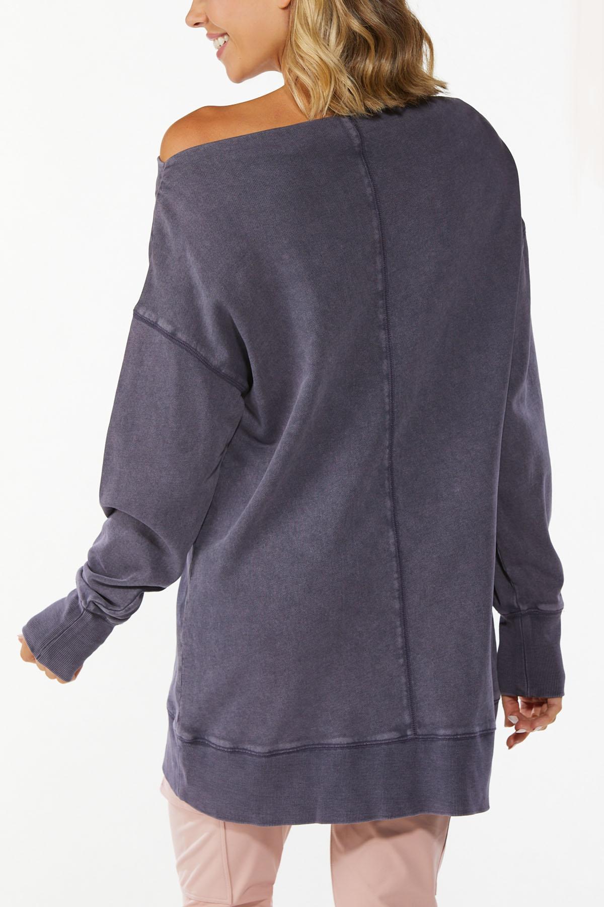 Slouch Oversized Sweatshirt (Item #44698273)