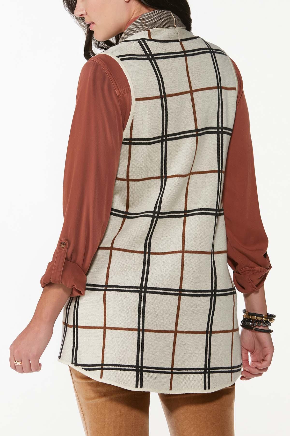 Jacquard Plaid Vest (Item #44700261)