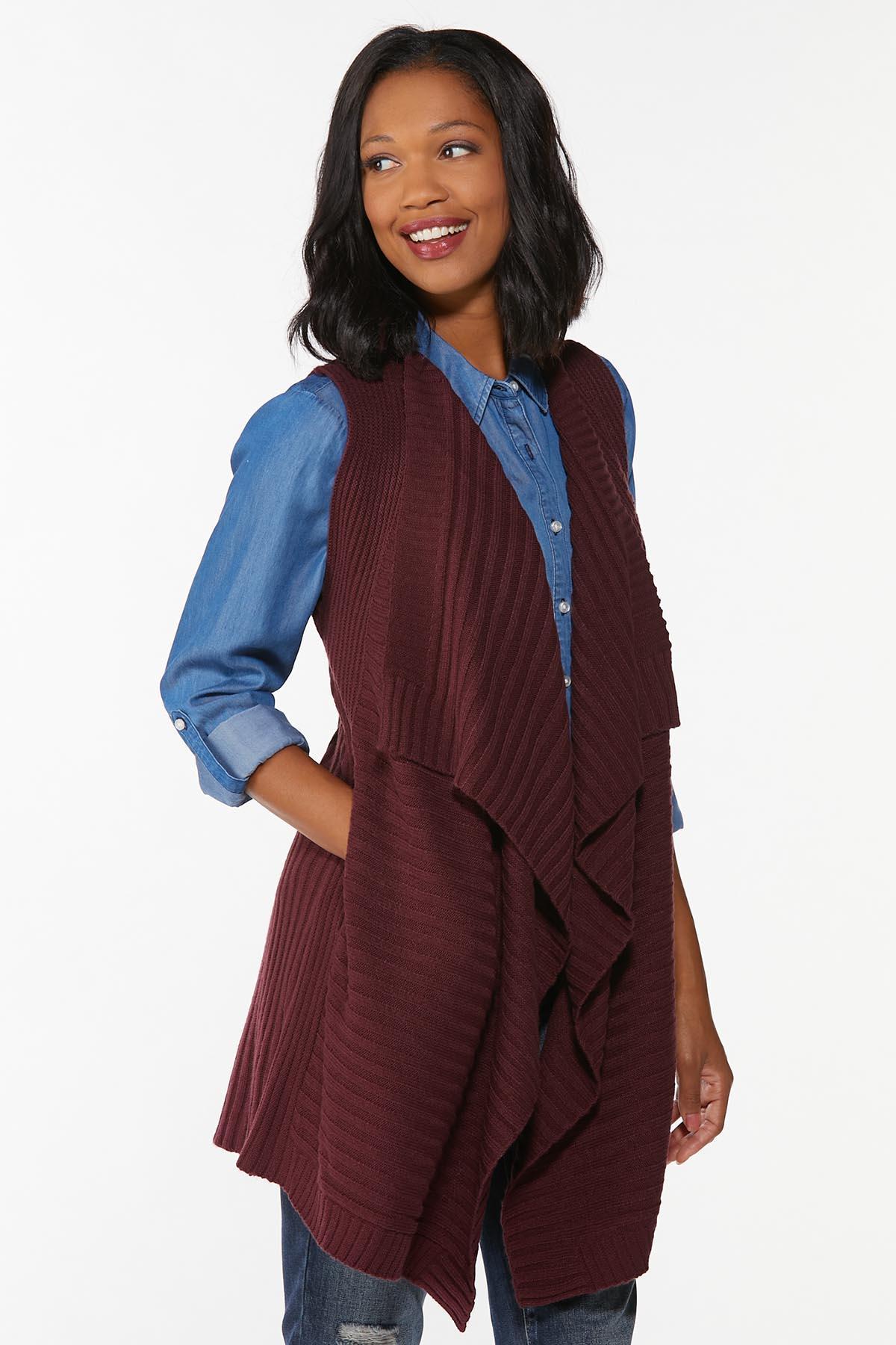 Draped Cardigan Sweater (Item #44700417)