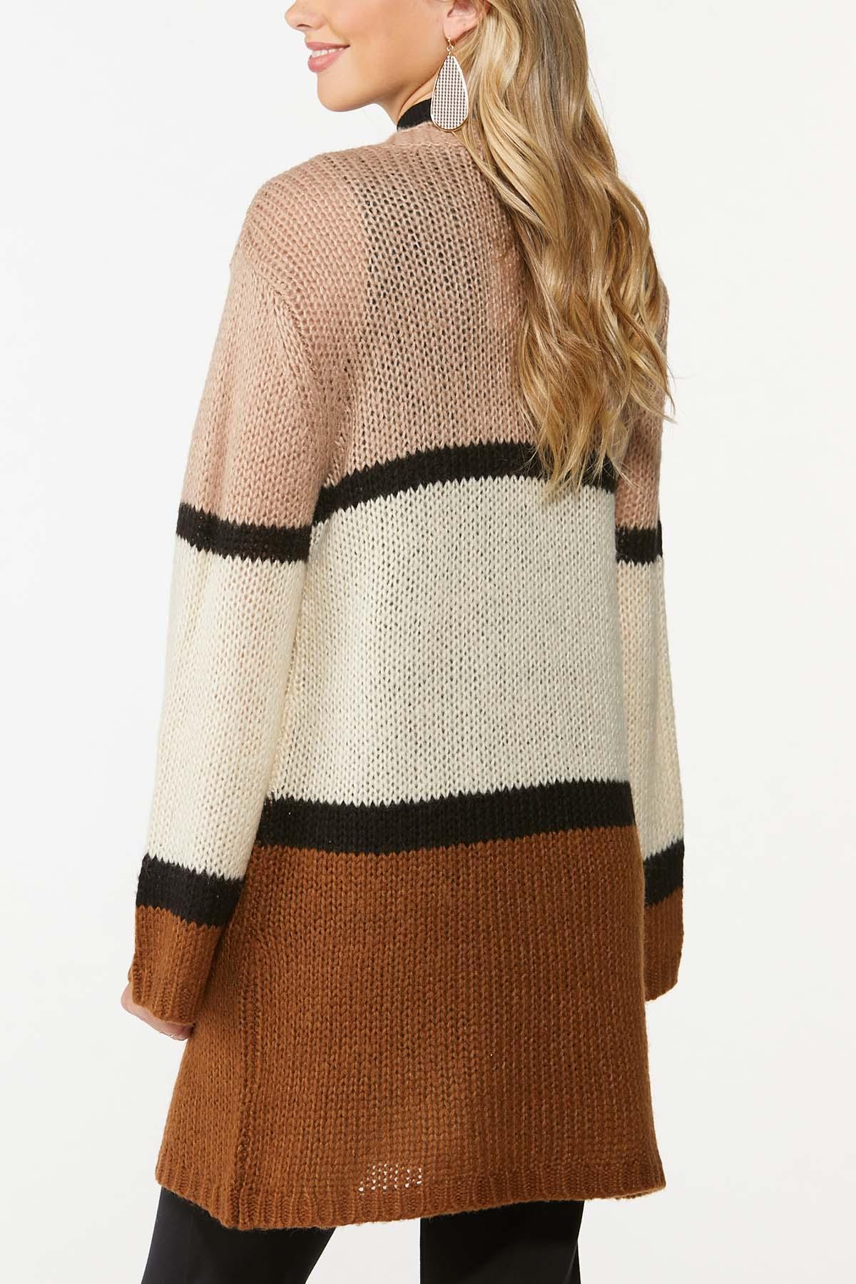 Caramel Cream Cardigan Sweater (Item #44700455)