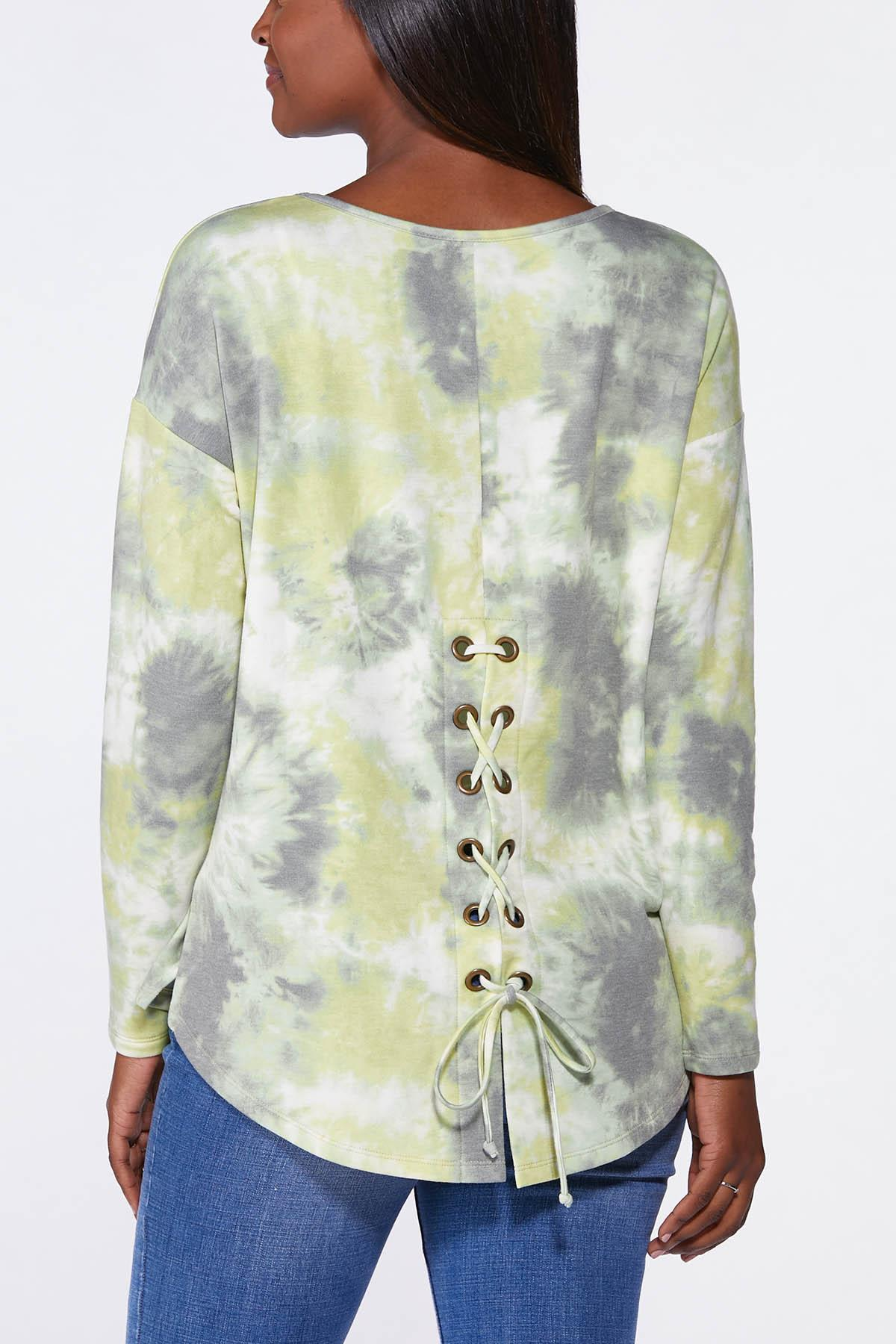 Plus Size Limelight French Terry Top (Item #44703427)