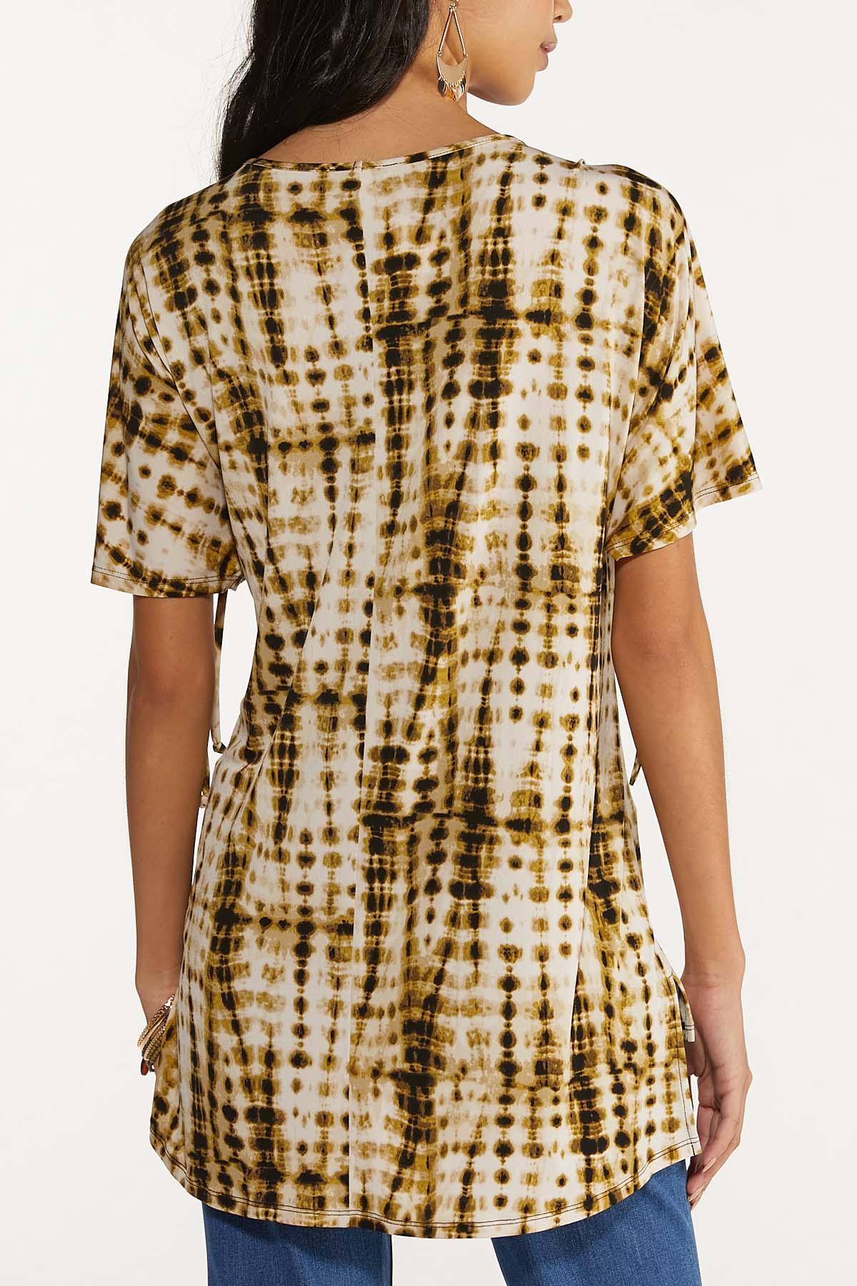 Olive Tie Dye Top (Item #44704355)